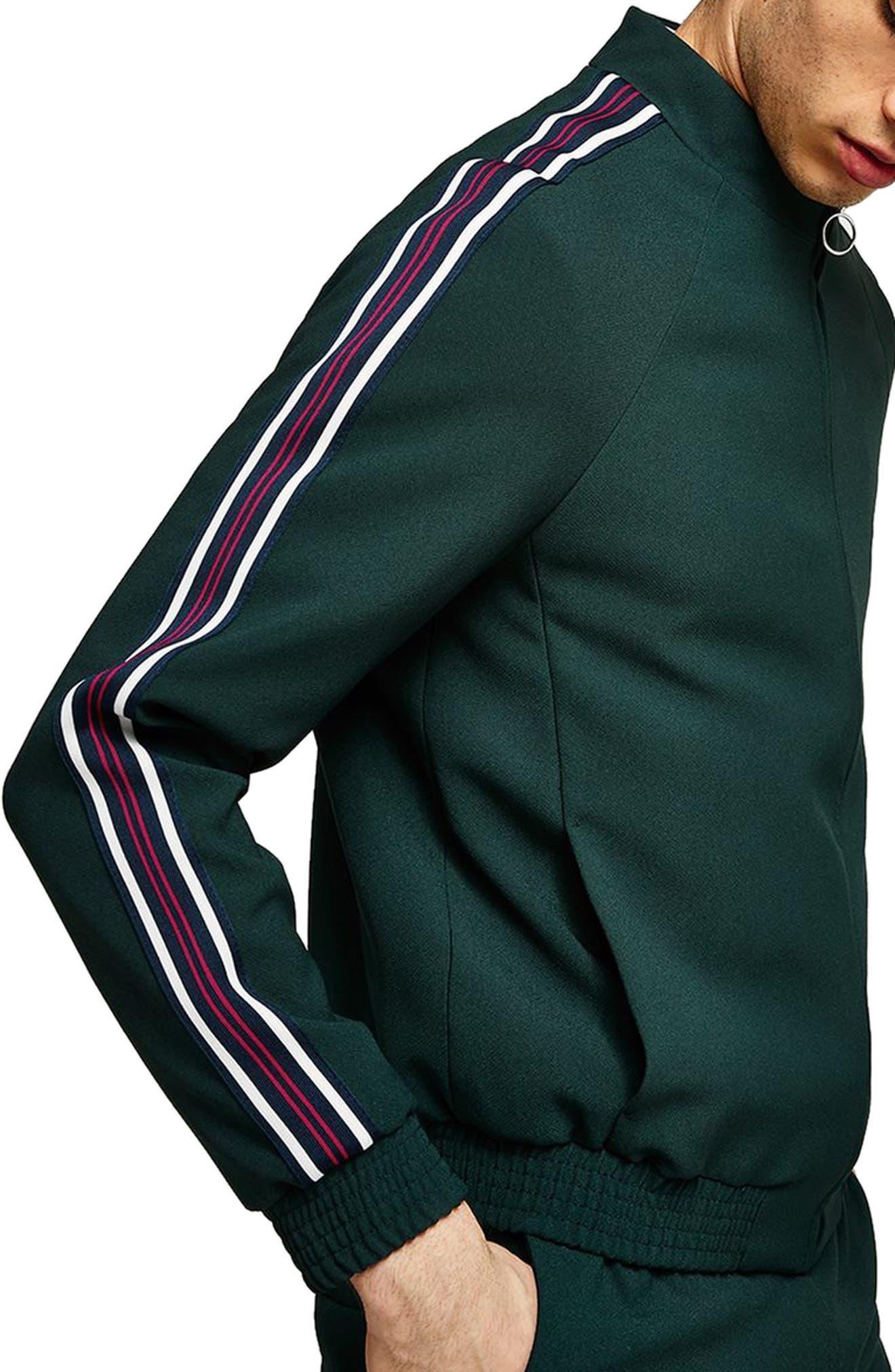 Track Jacket,                             Alternate thumbnail 2, color,                             GREEN MULTI