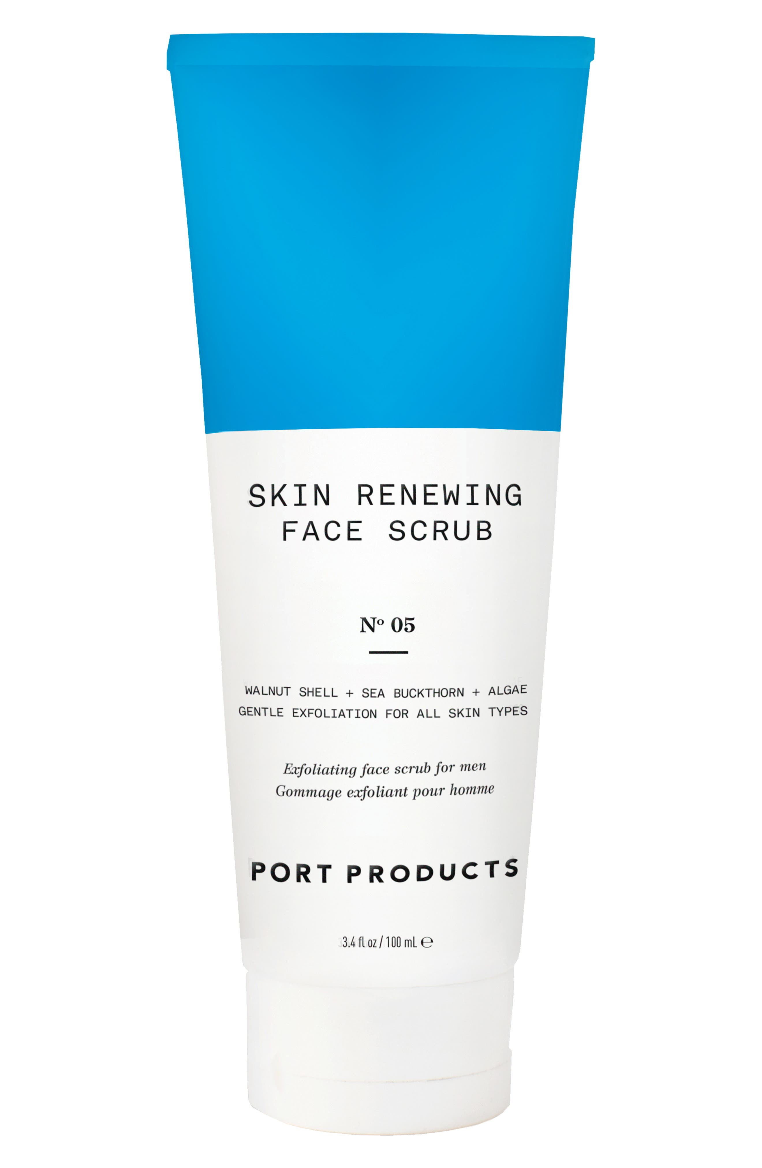 PORT PRODUCTS Skin Renewing Face Scrub