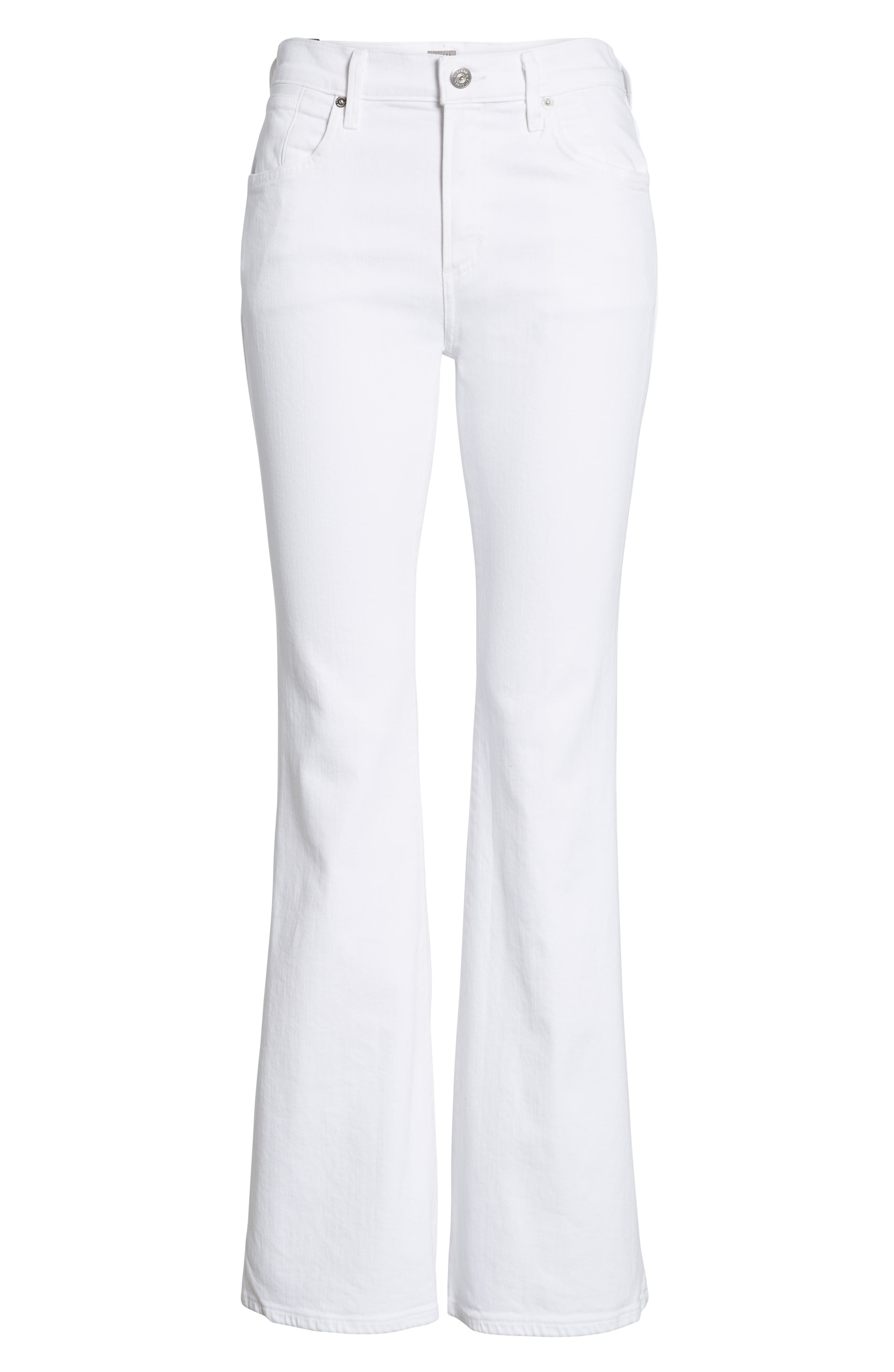 Fleetwood Flare Jeans,                             Alternate thumbnail 7, color,                             104