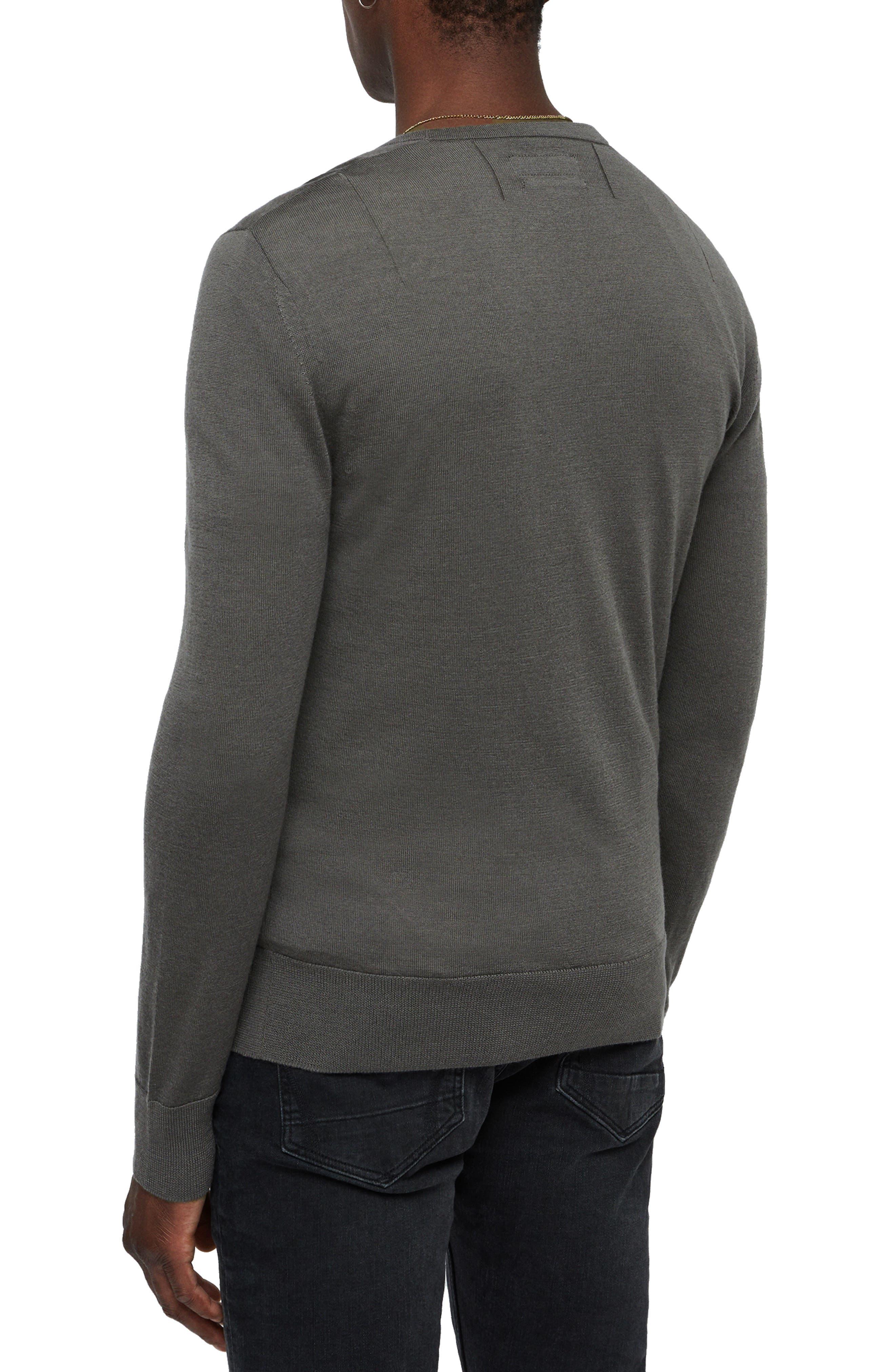 Mode Slim Fit Merino Wool Sweater,                             Alternate thumbnail 9, color,