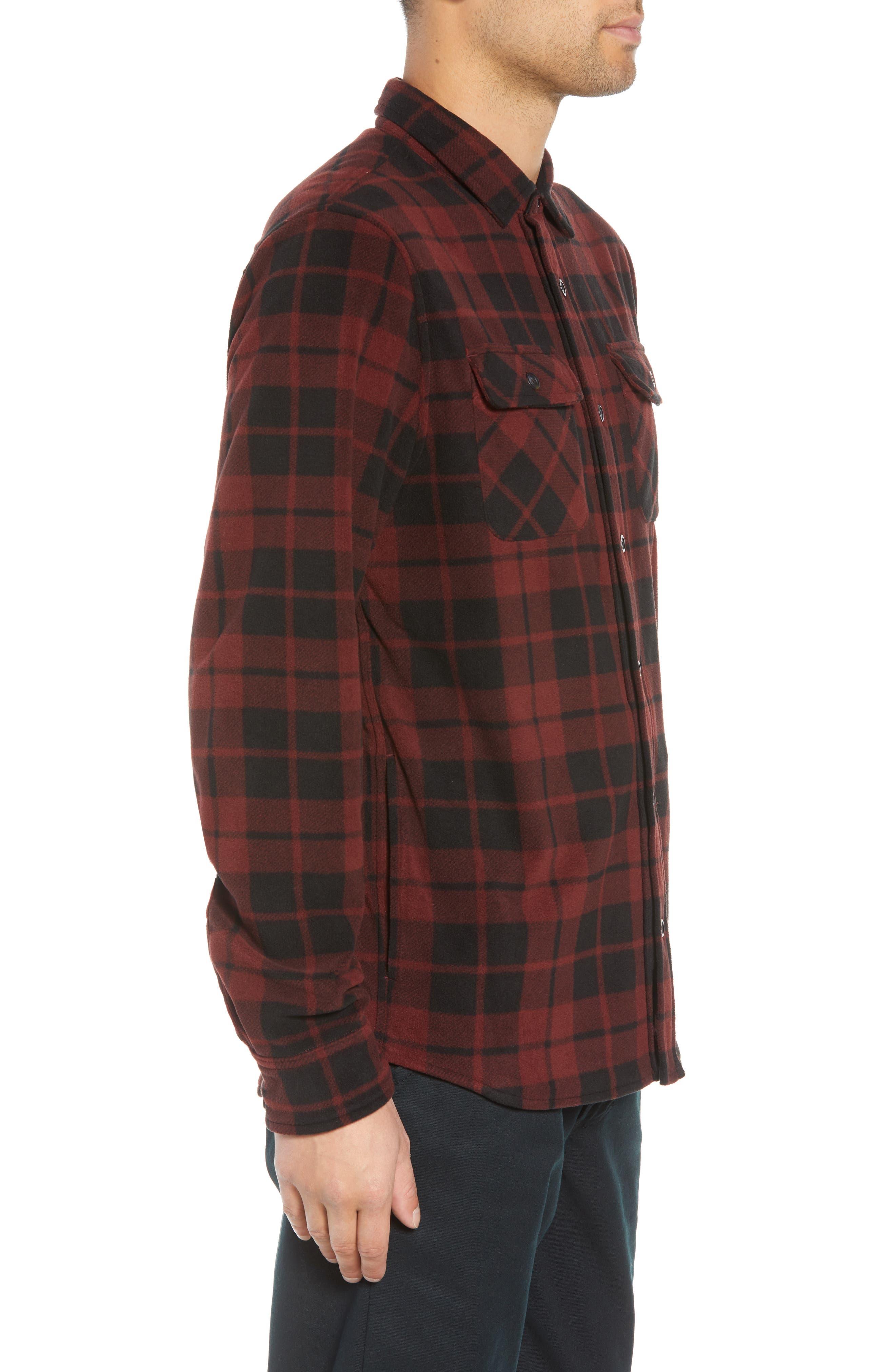 Hillcrest Fleece Shirt,                             Alternate thumbnail 3, color,                             930