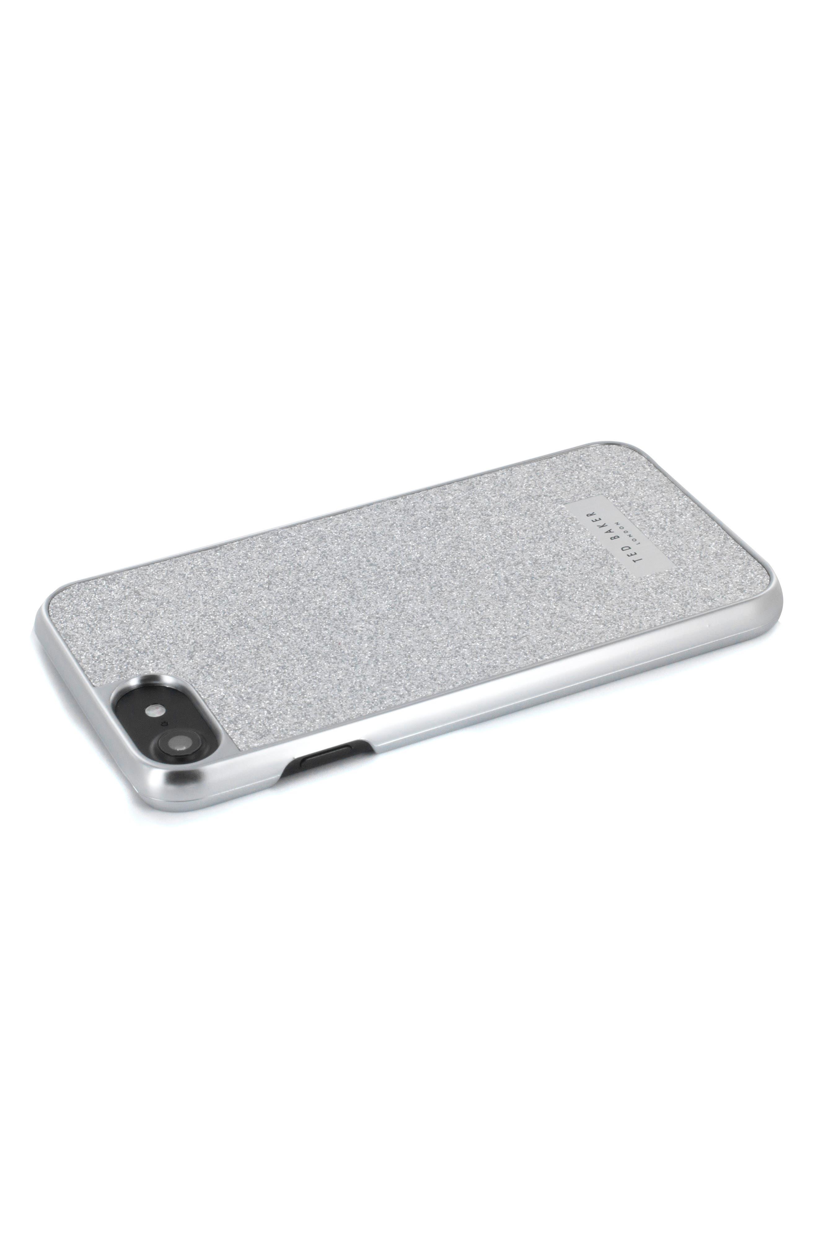 Sparkles iPhone 6/6s/7/8 & 6/6s/7/8 Plus Case,                             Alternate thumbnail 7, color,