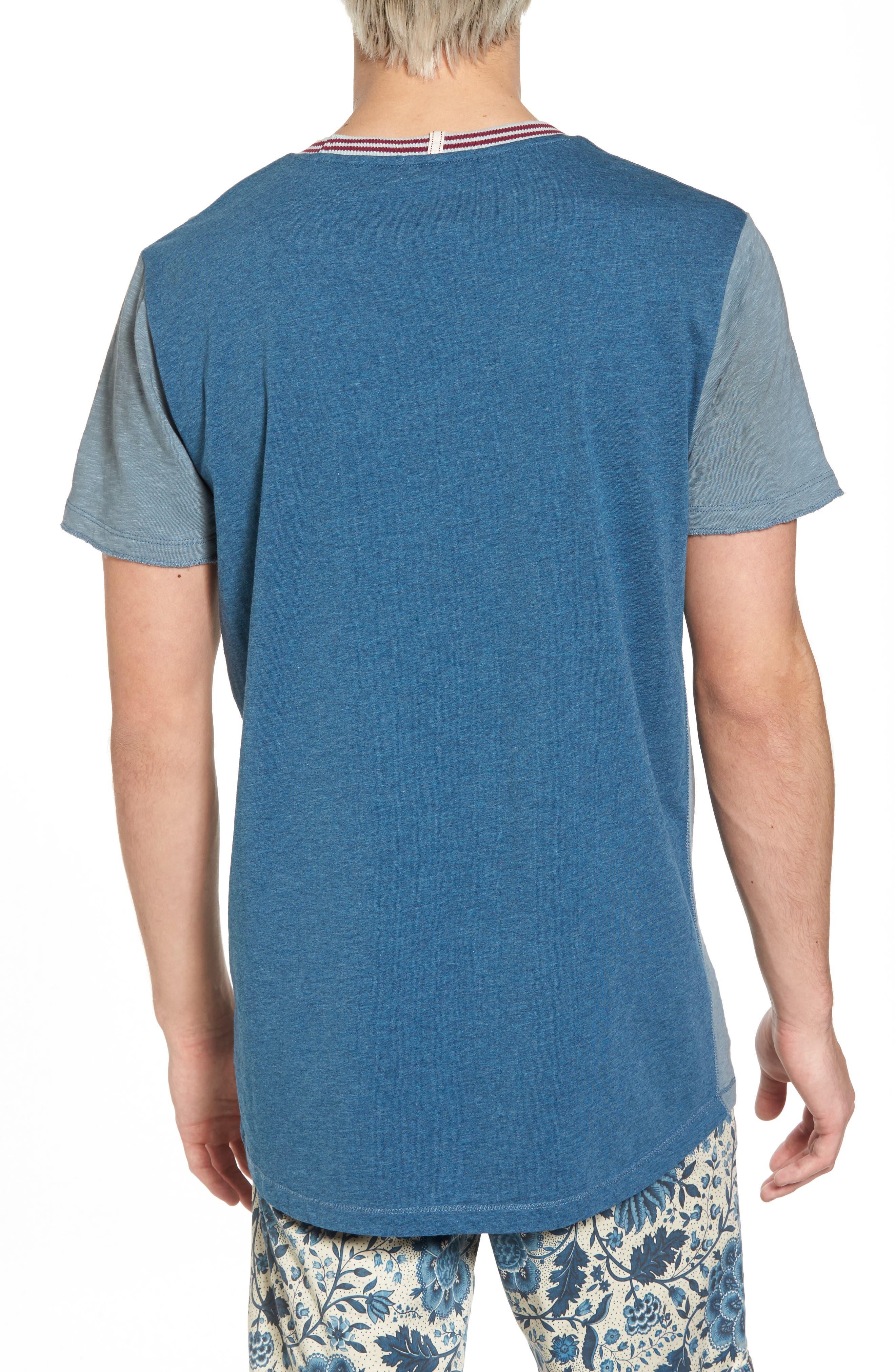 Contrast T-Shirt,                             Alternate thumbnail 2, color,                             COMBO B