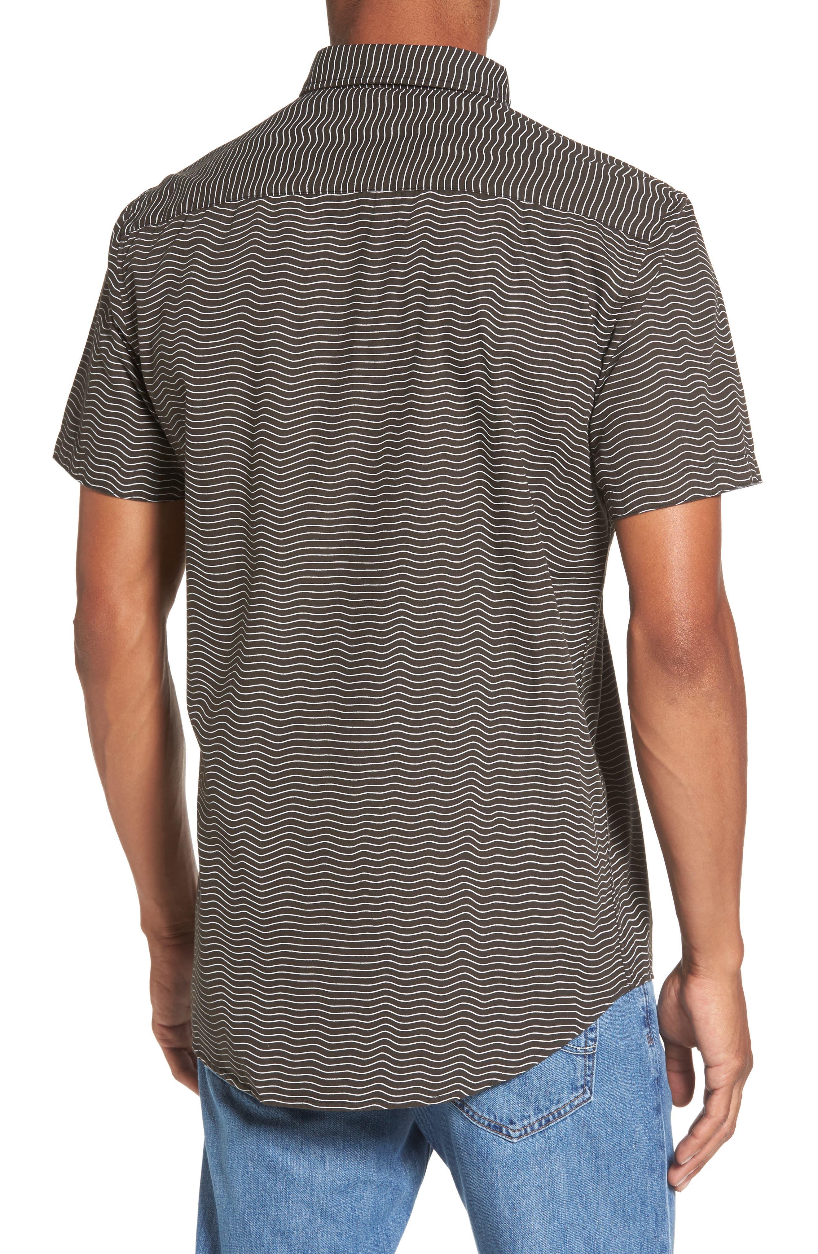 Heat Wave Stripe Shirt,                             Alternate thumbnail 2, color,                             002