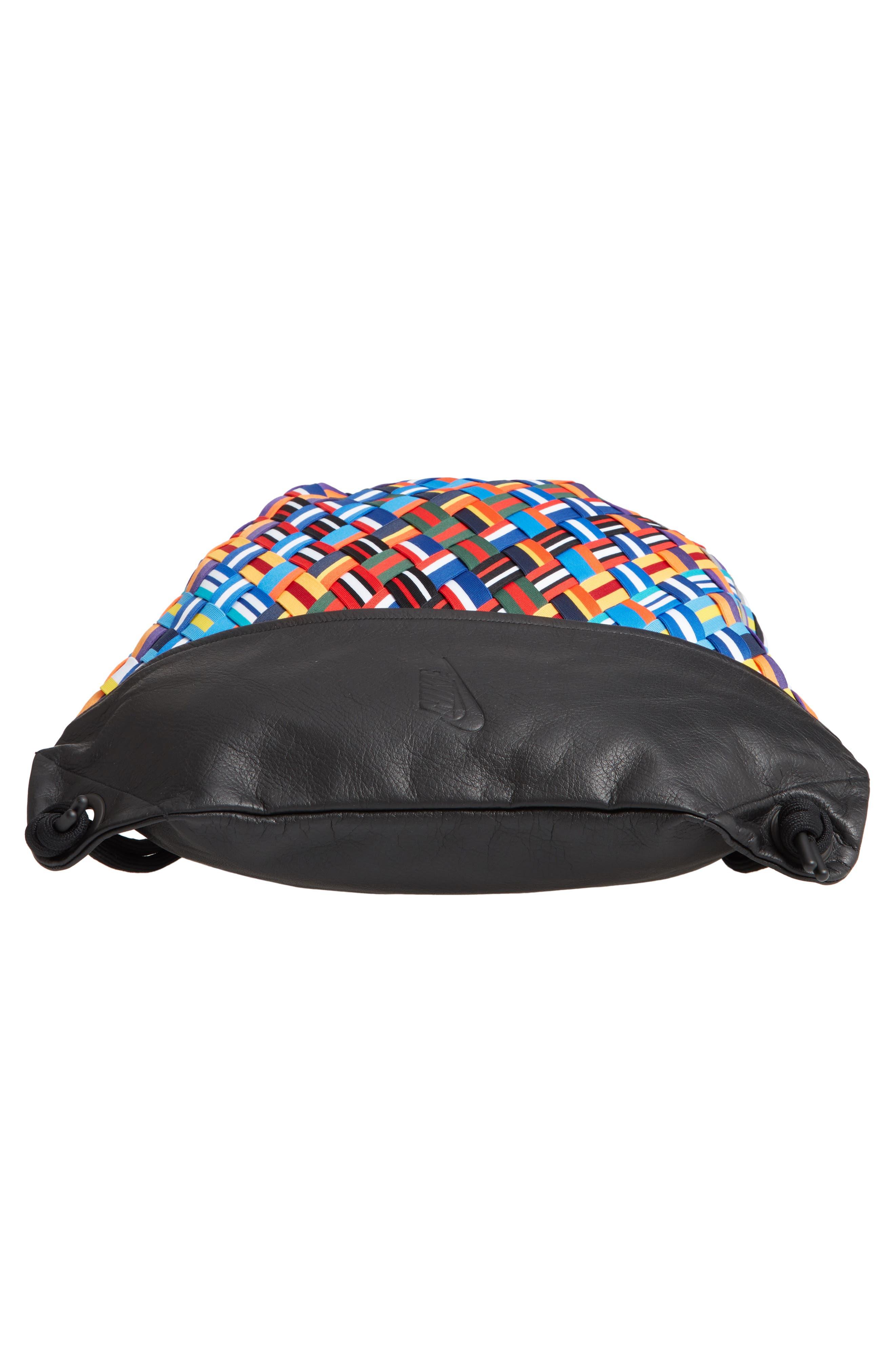 NIKE,                             NikeLab Basketball Backpack,                             Alternate thumbnail 6, color,                             BLACK