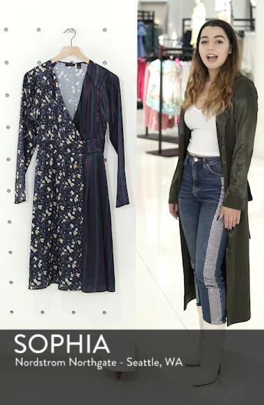 Print Satin Dress, sales video thumbnail
