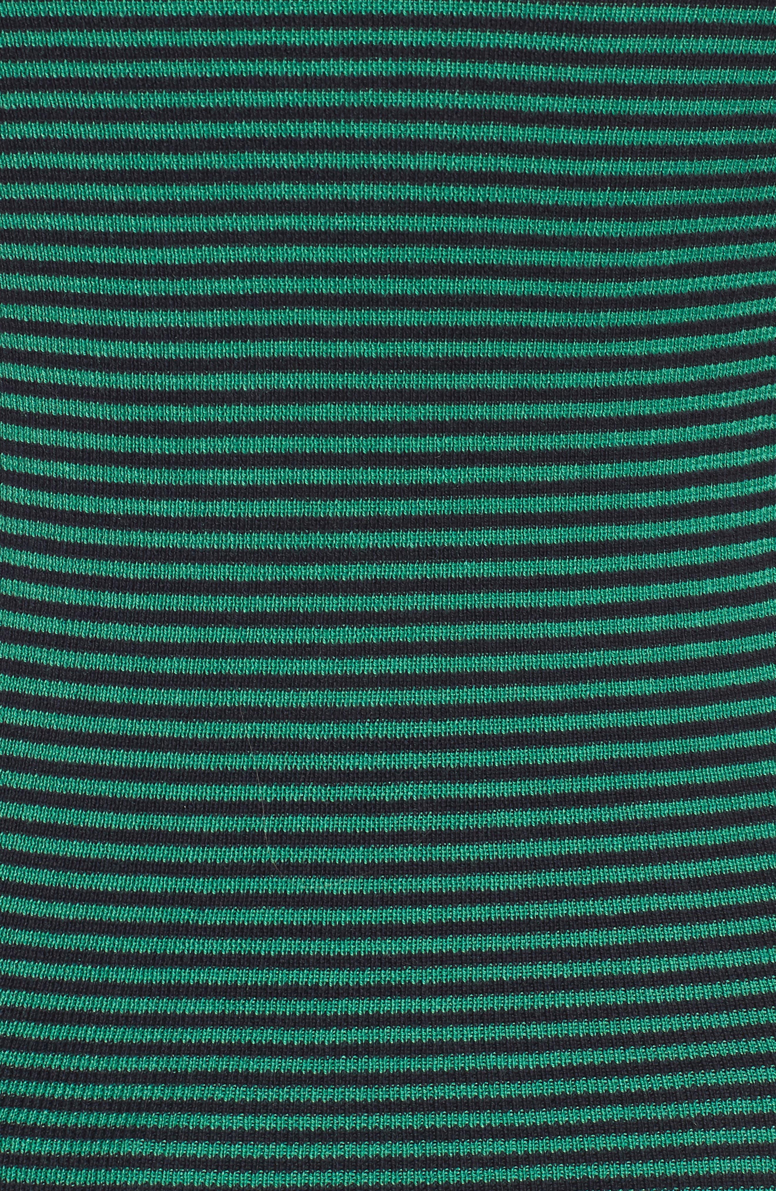 Stripe Crewneck Sweater,                             Alternate thumbnail 6, color,                             315