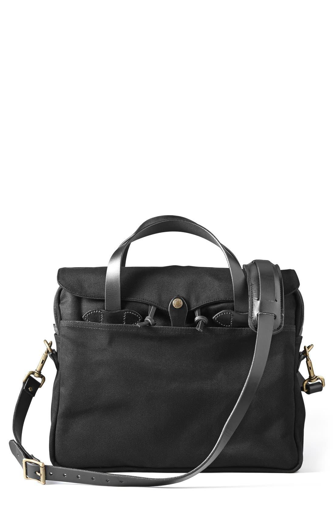 Original Briefcase,                         Main,                         color, BLACK