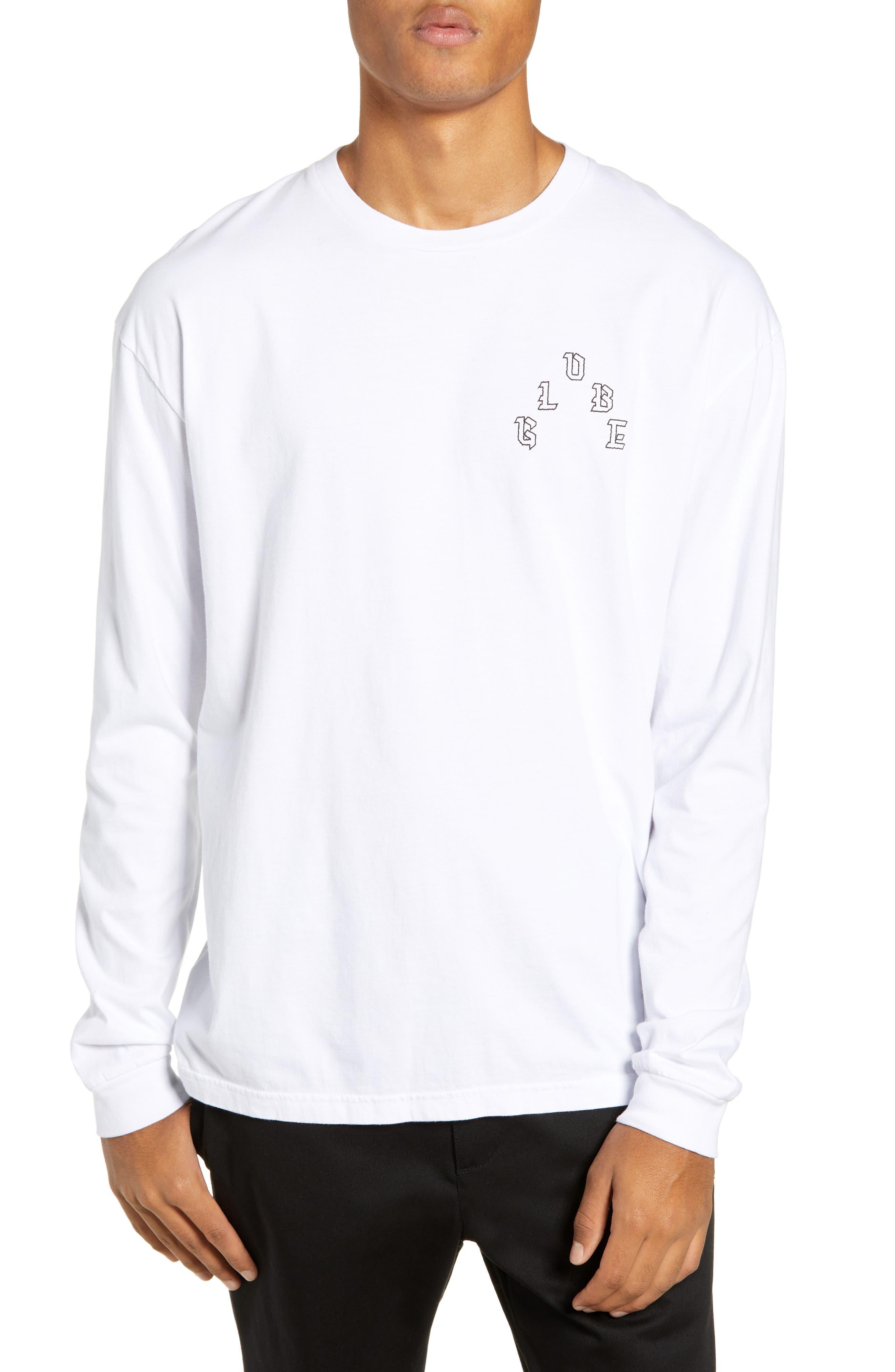 GLOBE Prophet Long Sleeve T-Shirt in White