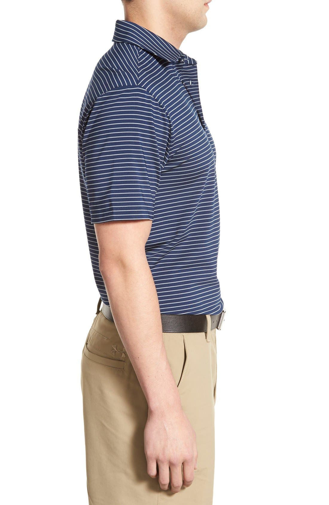 'Playoff' Loose Fit Short Sleeve Polo,                             Alternate thumbnail 204, color,