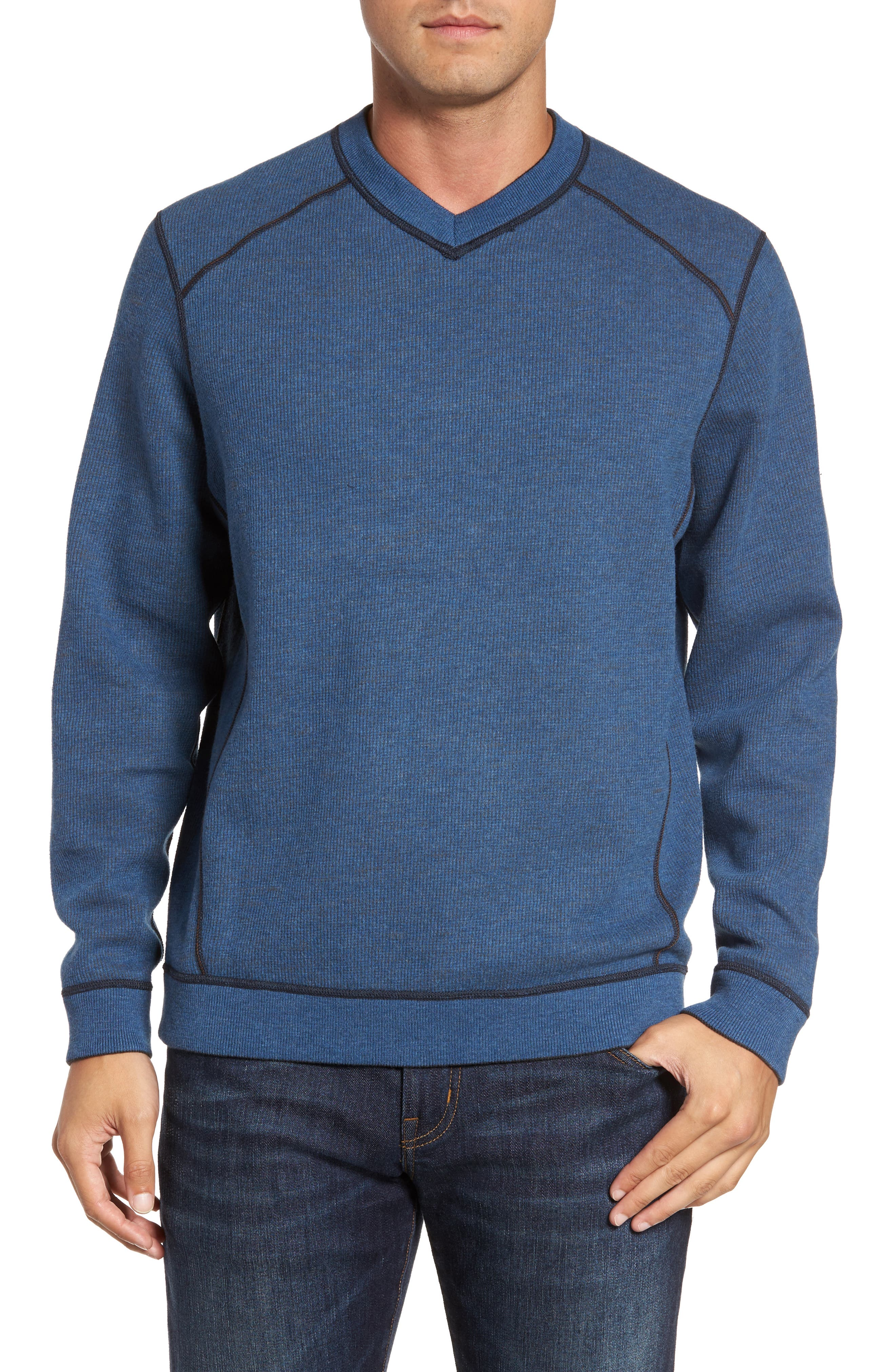 Flipside Pro Reversible Sweatshirt,                             Alternate thumbnail 4, color,                             001