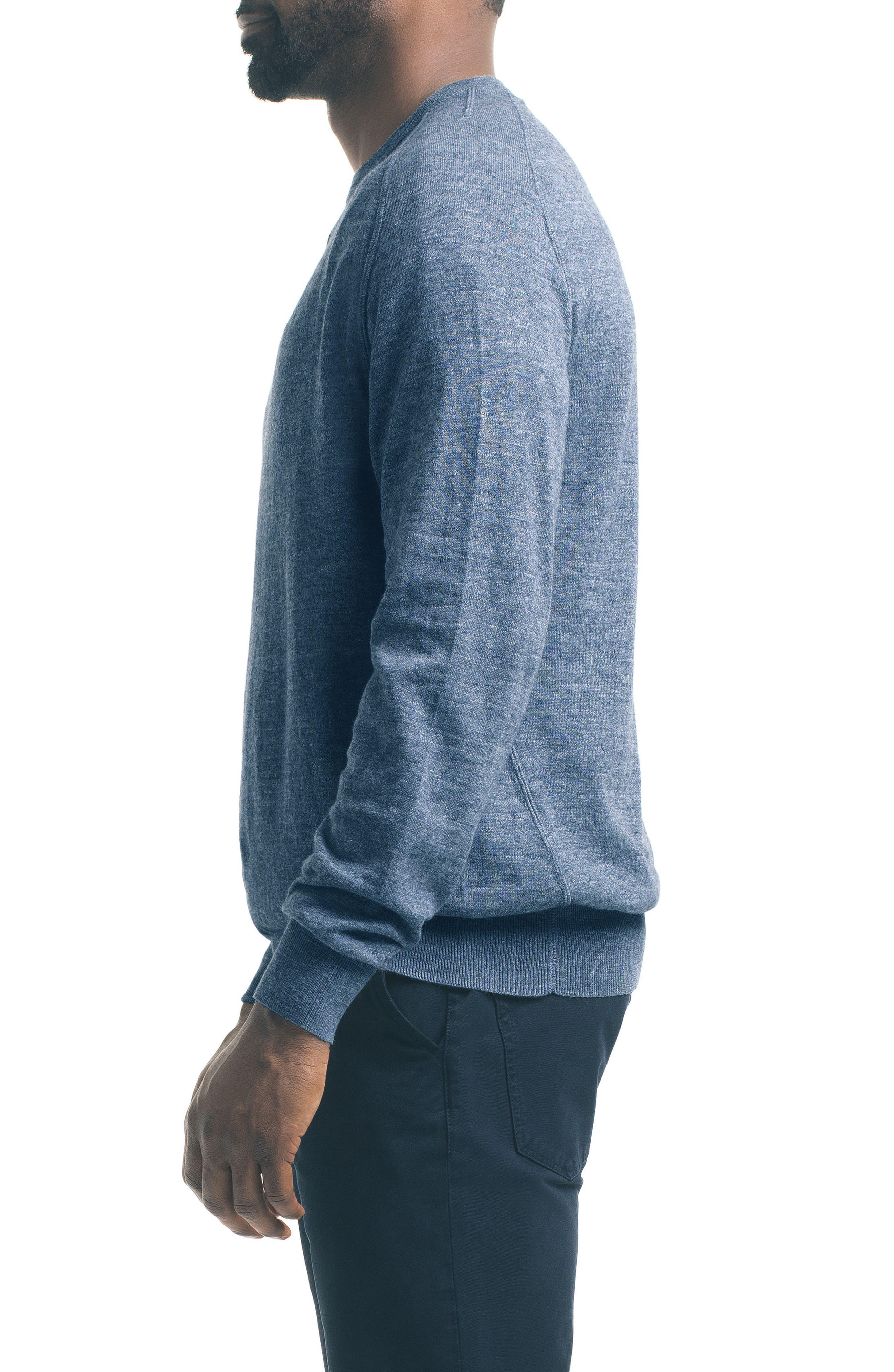 Slub Pullover Sweater,                             Alternate thumbnail 9, color,