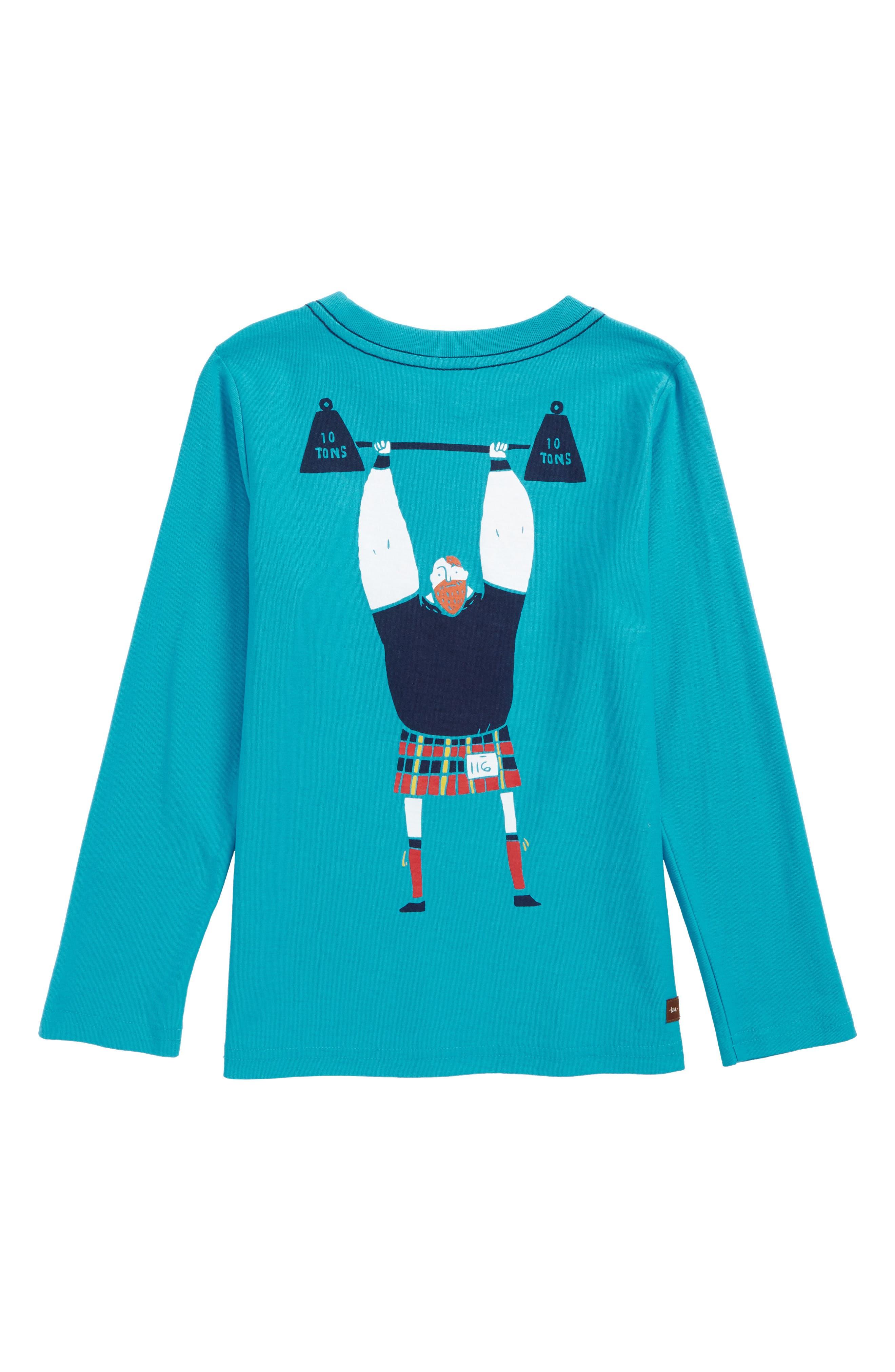 Strongman Graphic T-Shirt,                             Alternate thumbnail 2, color,                             482