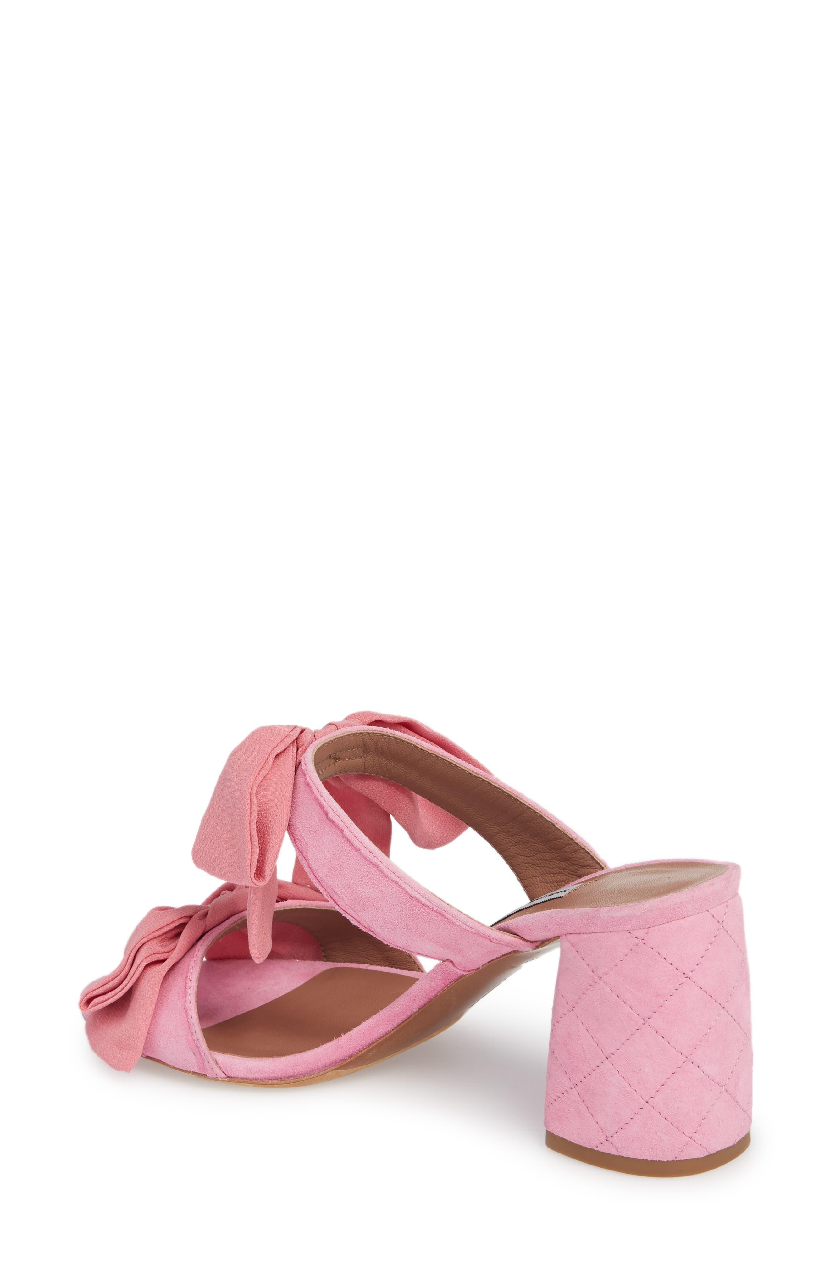 Barbi Bow Sandal,                             Alternate thumbnail 4, color,