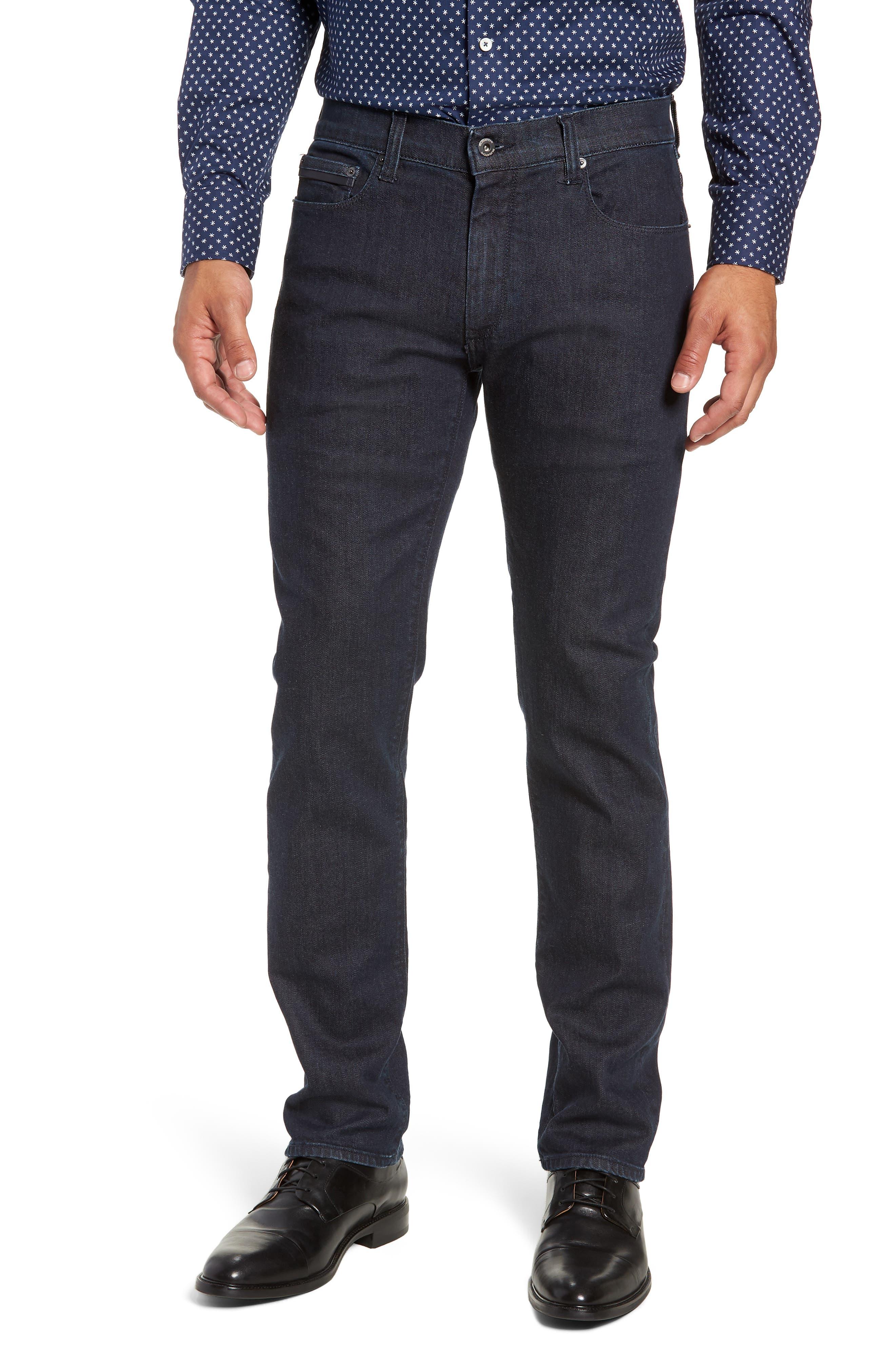 Slim Fit Jeans,                         Main,                         color, SMOKE