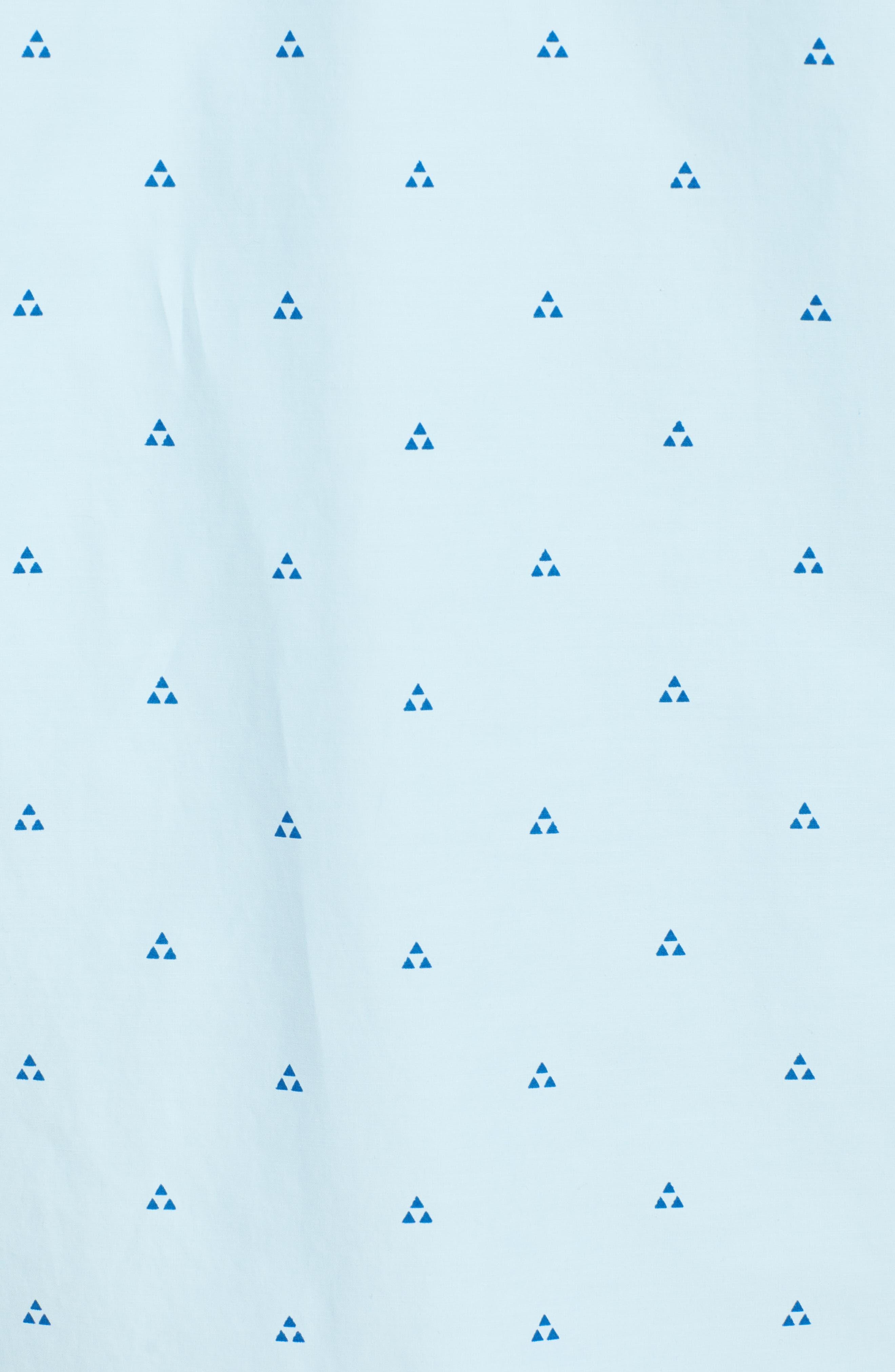 Trailblazed Regular Fit Performance Sport Shirt,                             Alternate thumbnail 5, color,                             CRYSTAL BLUE
