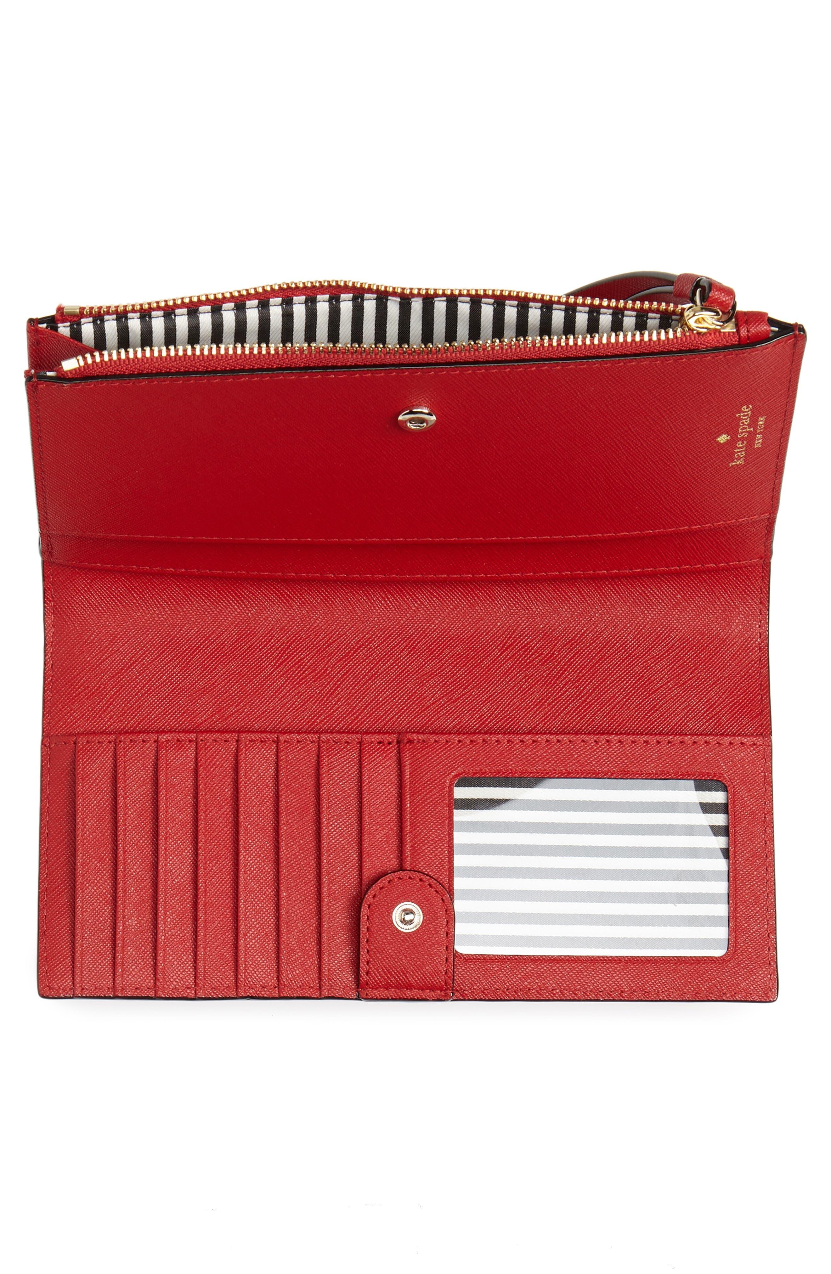 cameron street - eliza leather wallet,                             Alternate thumbnail 4, color,                             602