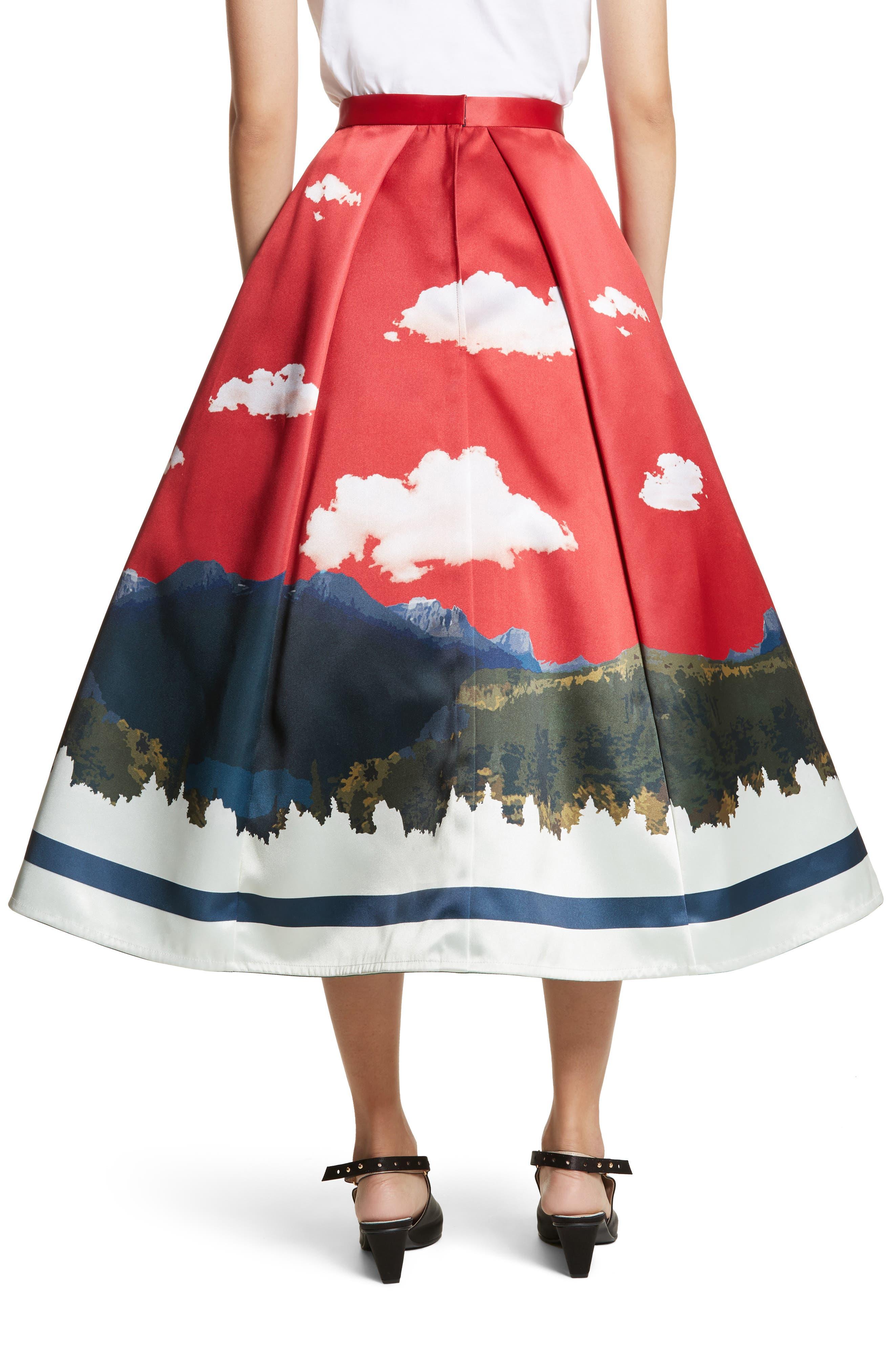 Day/Night Reversible Skirt,                             Alternate thumbnail 3, color,                             600