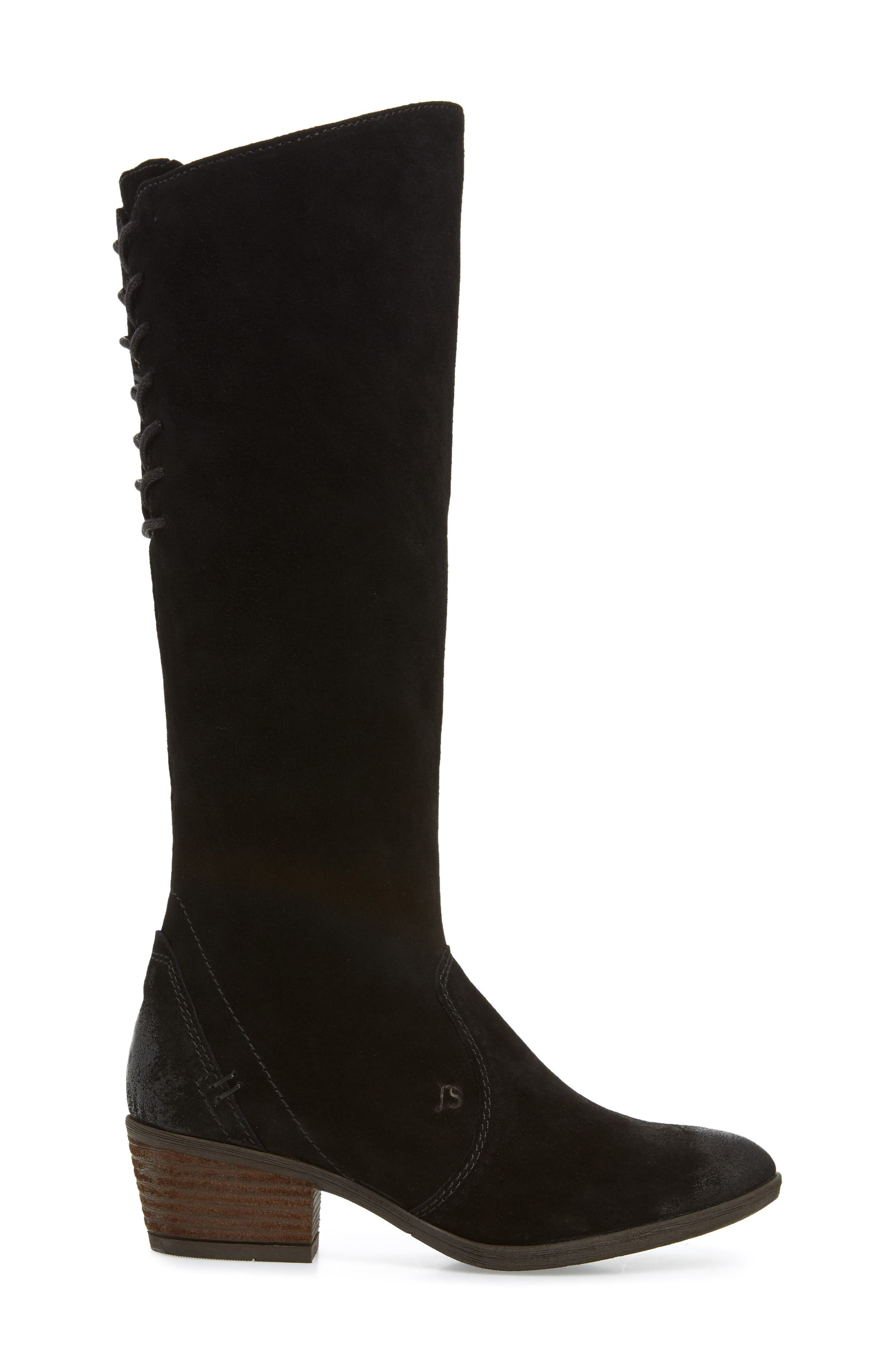 Daphne 33 Knee High Boot,                             Alternate thumbnail 3, color,                             005