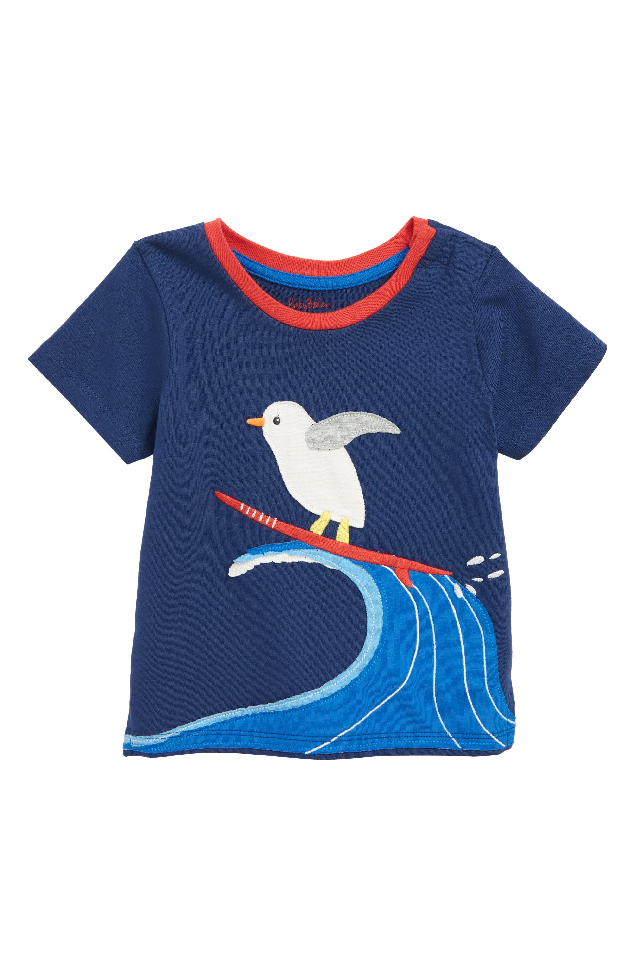 Animal Appliqué T-Shirt,                         Main,                         color,