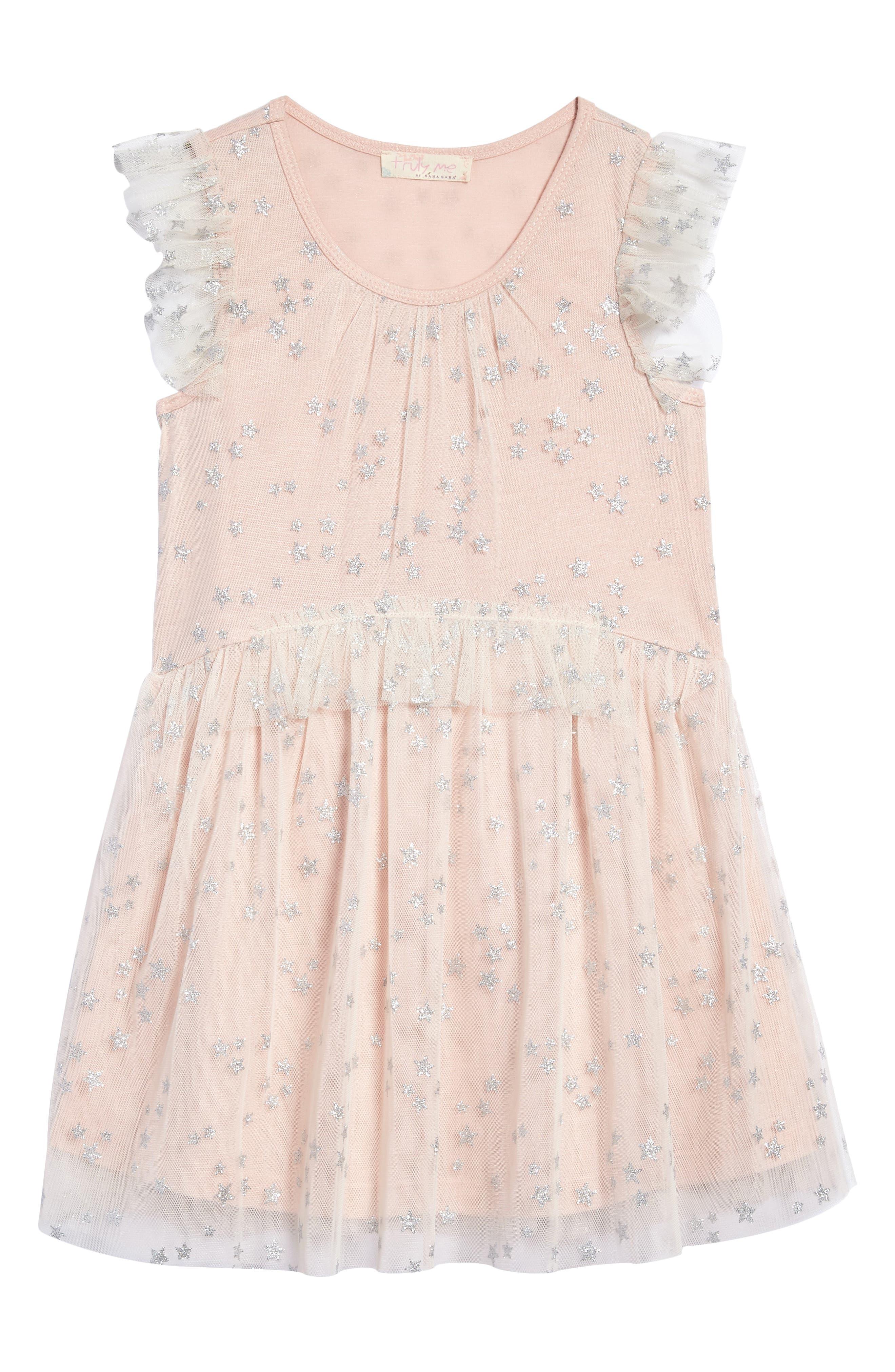 Mesh Star Dress,                         Main,                         color, 690