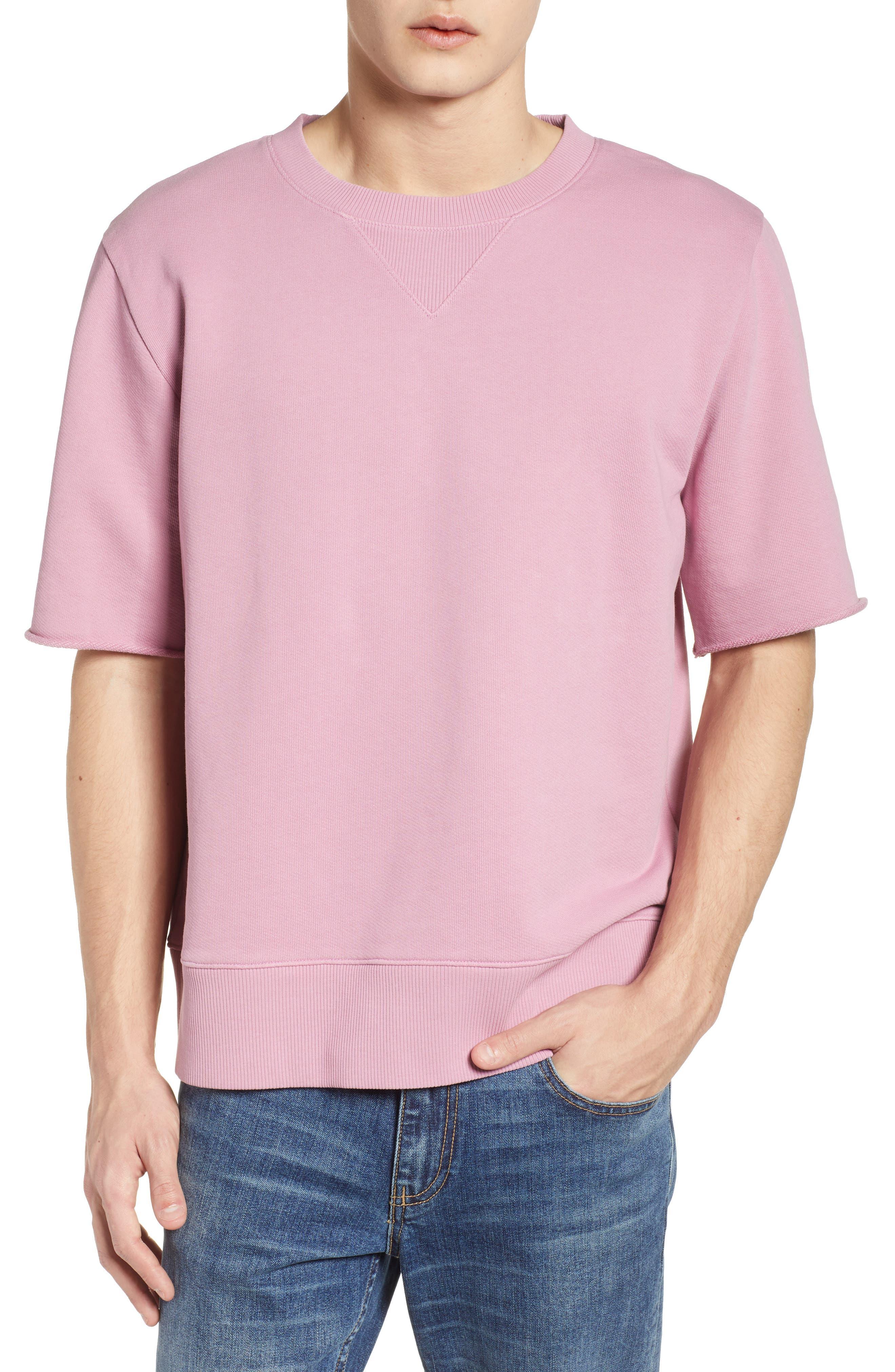 Cotton Terry Sweatshirt,                             Main thumbnail 2, color,