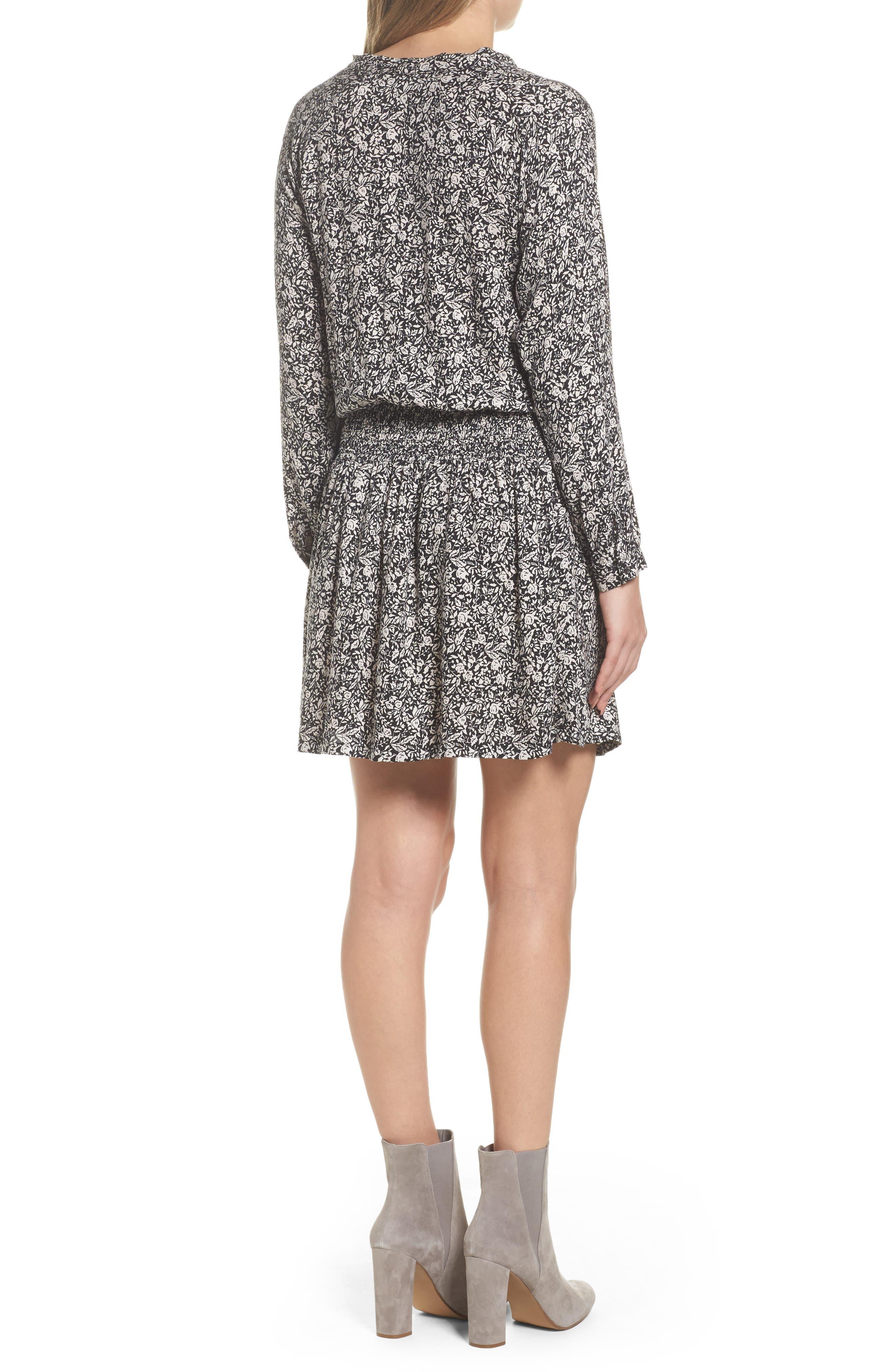 Ivy Blouson Dress,                             Alternate thumbnail 2, color,                             001