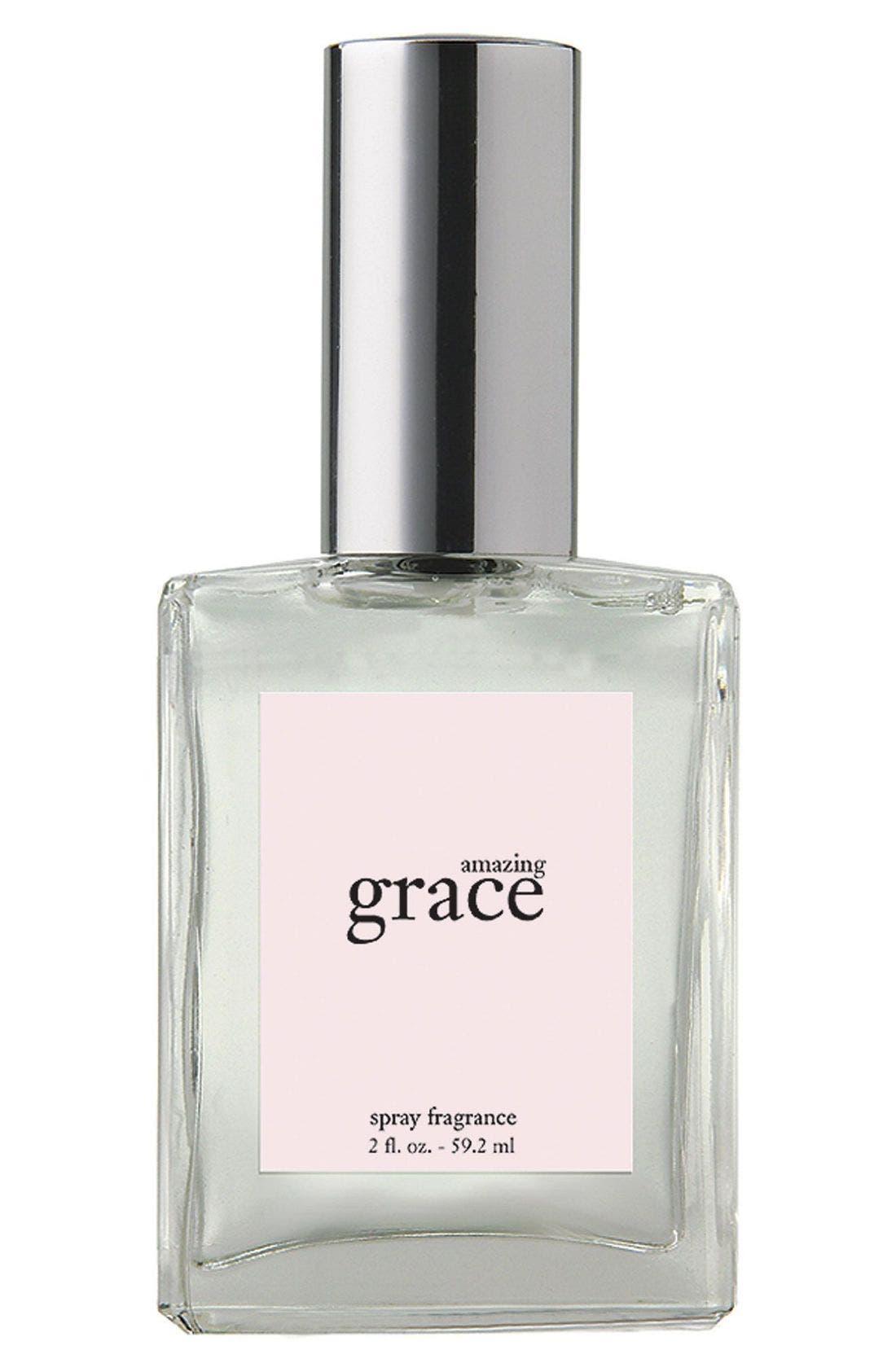 'amazing grace' eau de toilette spray,                             Main thumbnail 1, color,                             NO COLOR