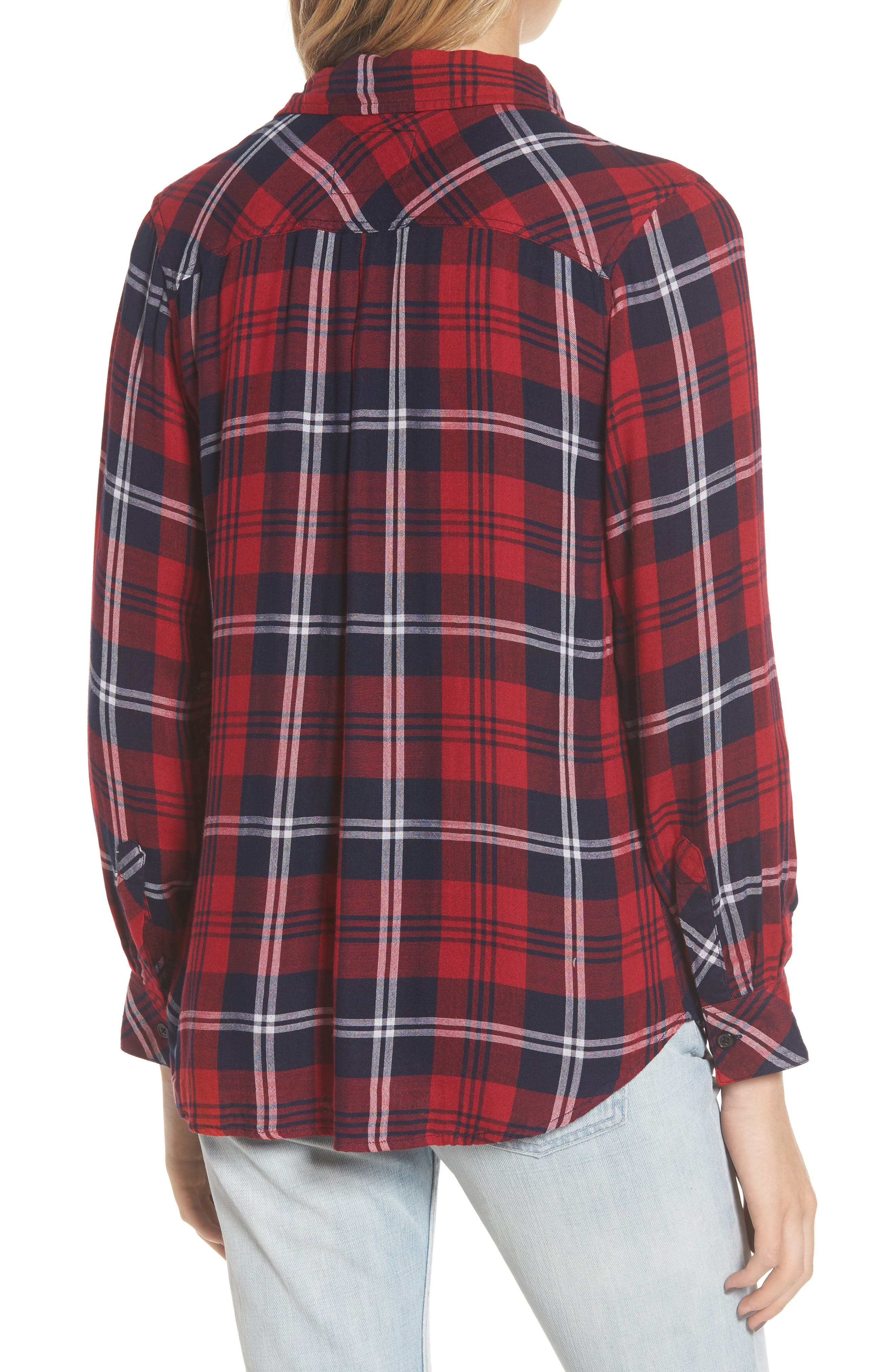 Taitum Plaid Shirt,                             Alternate thumbnail 2, color,                             622