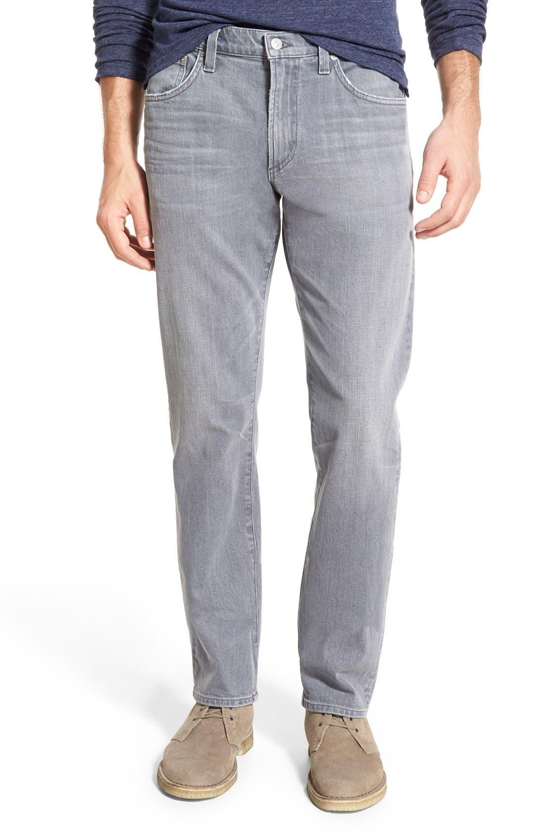 'Gage' Slim Straight Leg Jeans,                             Main thumbnail 1, color,                             AKRON