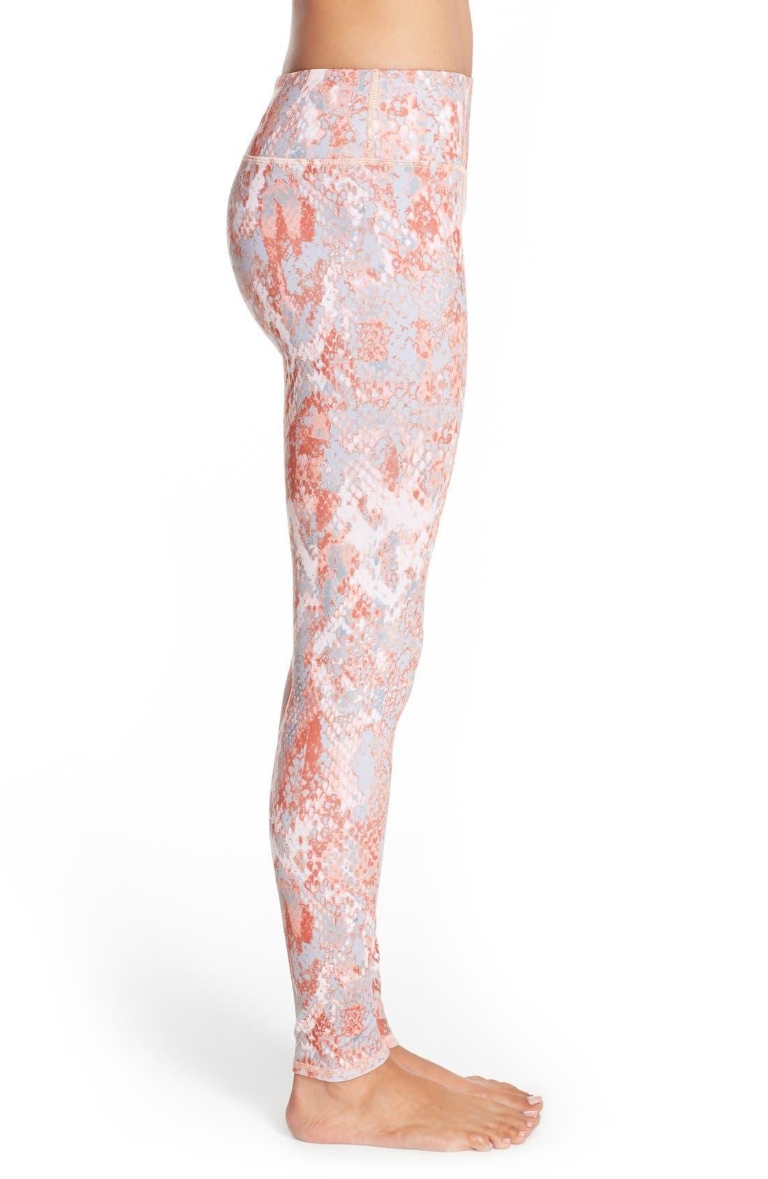 'Airbrushed' Leggings,                             Alternate thumbnail 125, color,