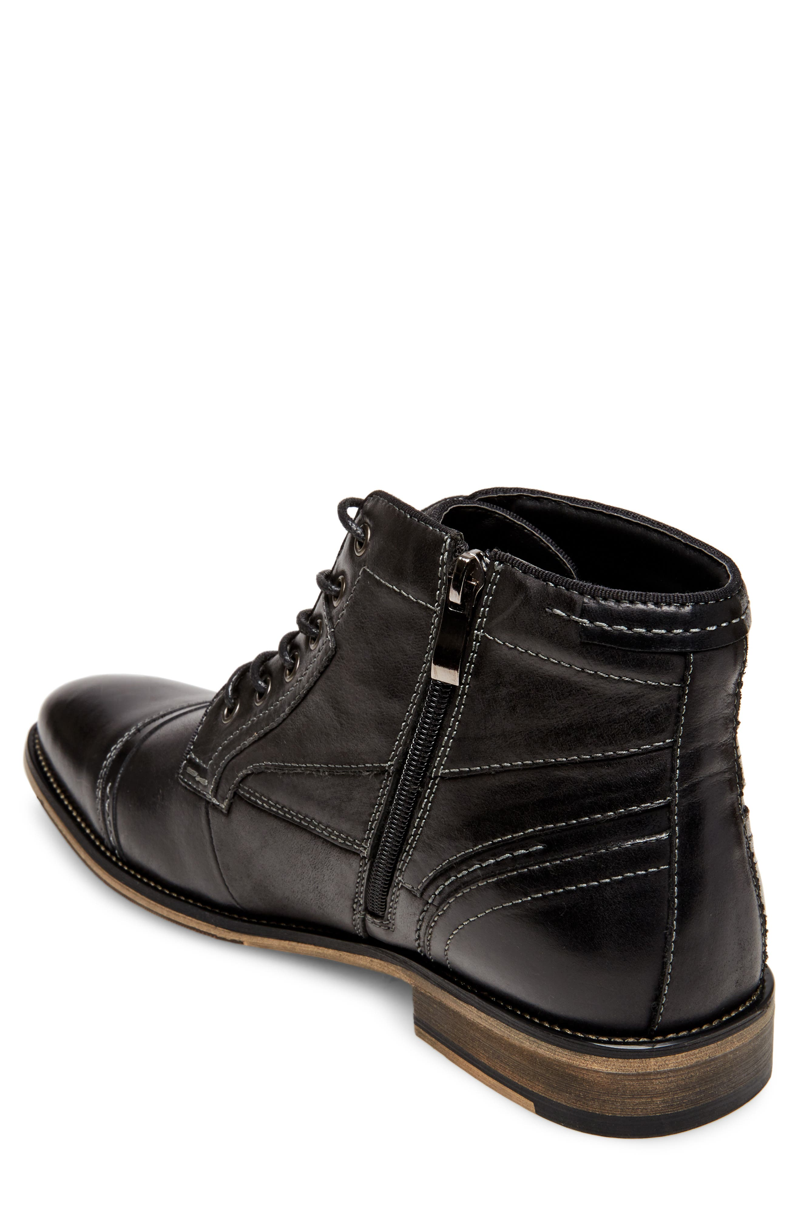 Jeffries Cap Toe Boot,                             Alternate thumbnail 2, color,                             074