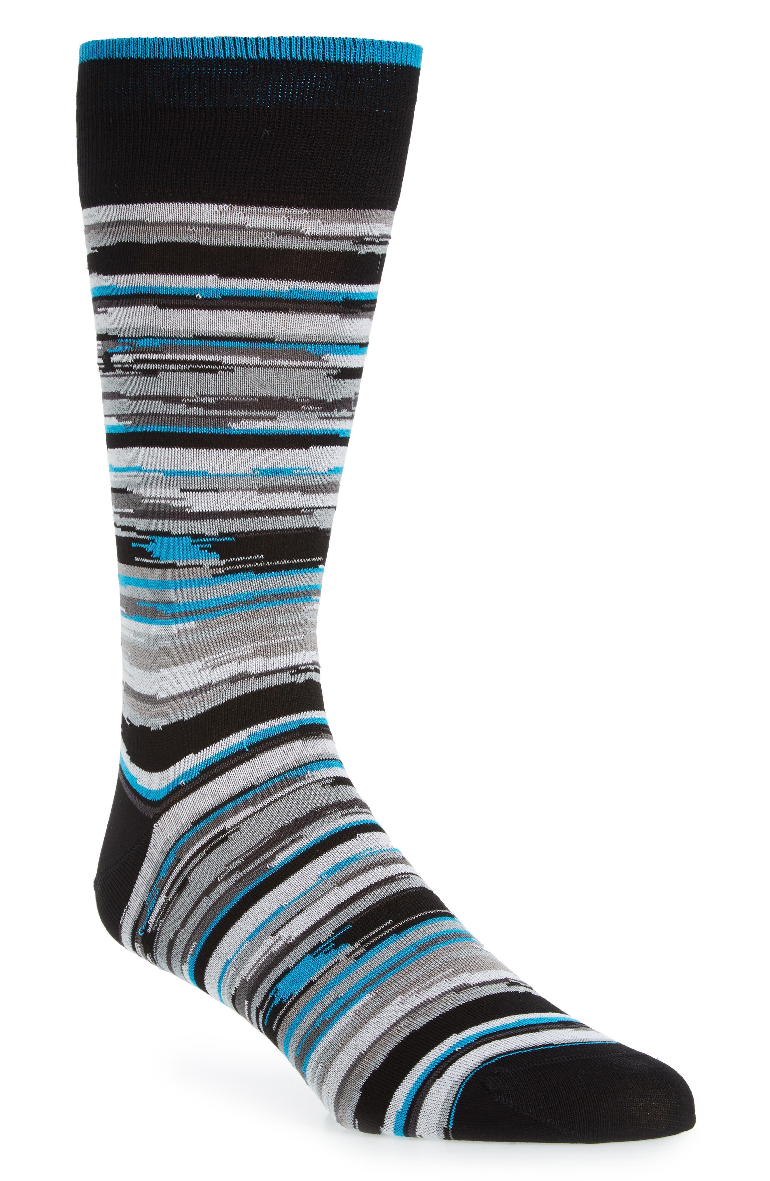 Cotton Blend Socks,                         Main,                         color, 030