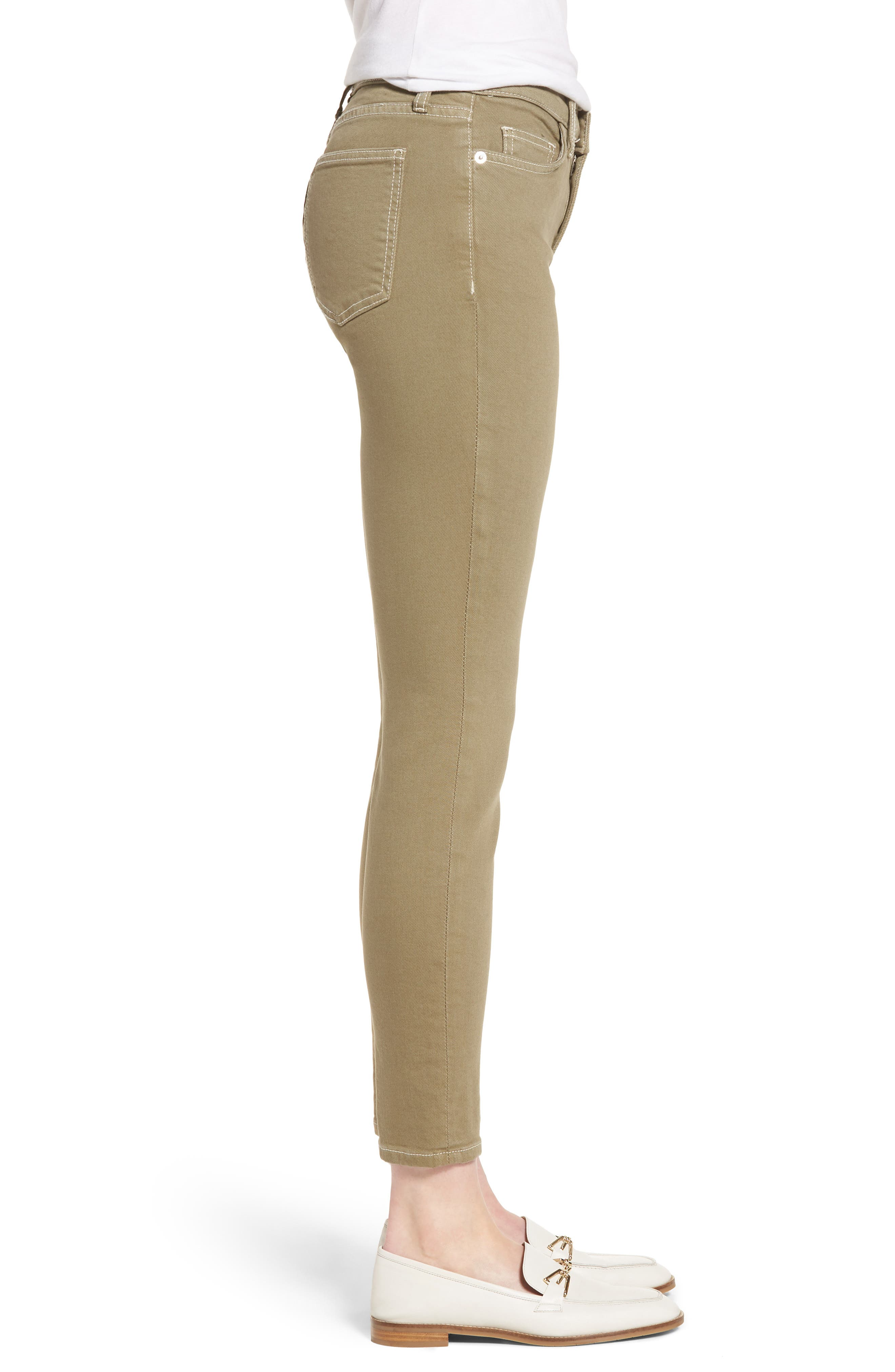 The Stiletto Ankle Skinny Jeans,                             Alternate thumbnail 3, color,                             348