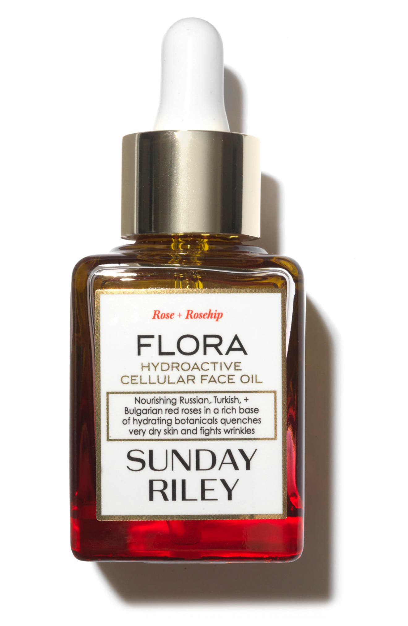 SPACE.NK.apothecary Sunday Riley Flora Hydroactive Cellular Face Oil,                             Alternate thumbnail 2, color,                             000