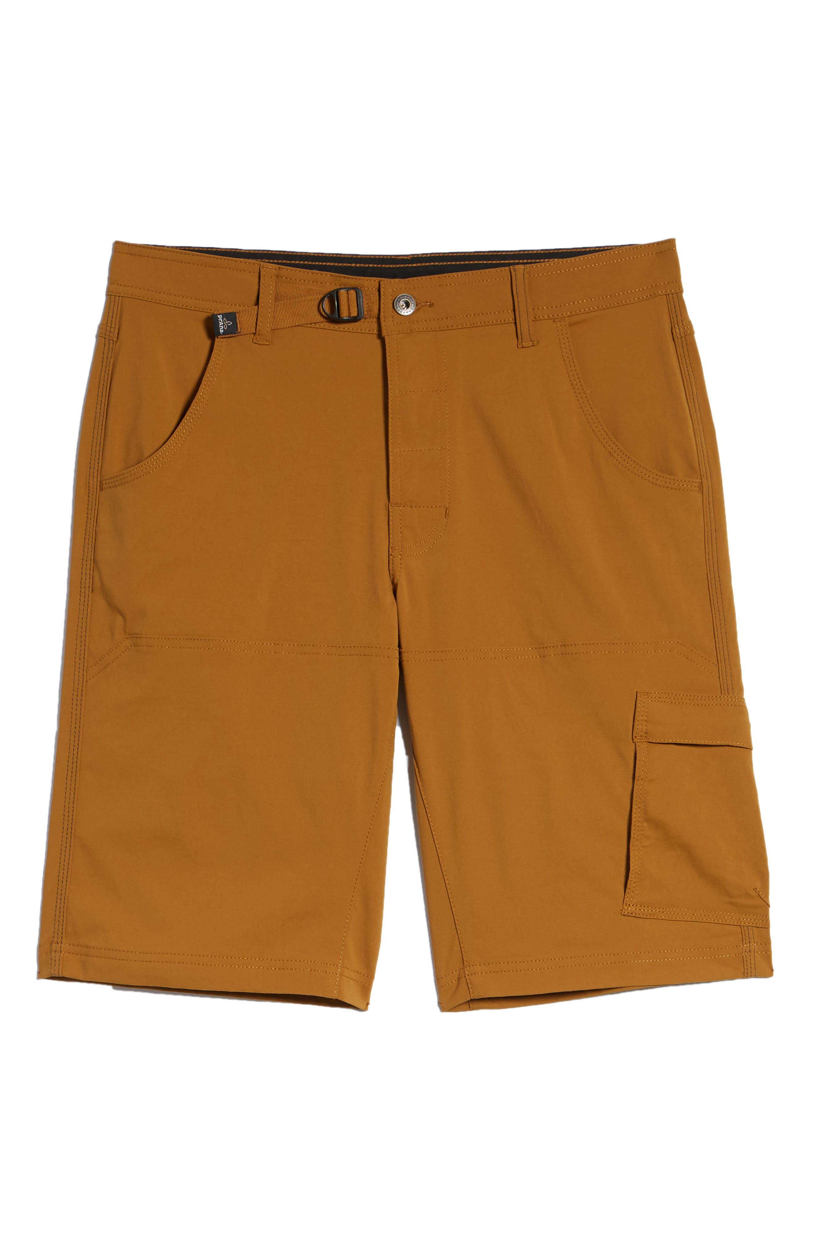 PRANA,                             Zion Stretch Shorts,                             Alternate thumbnail 6, color,                             BRONZED