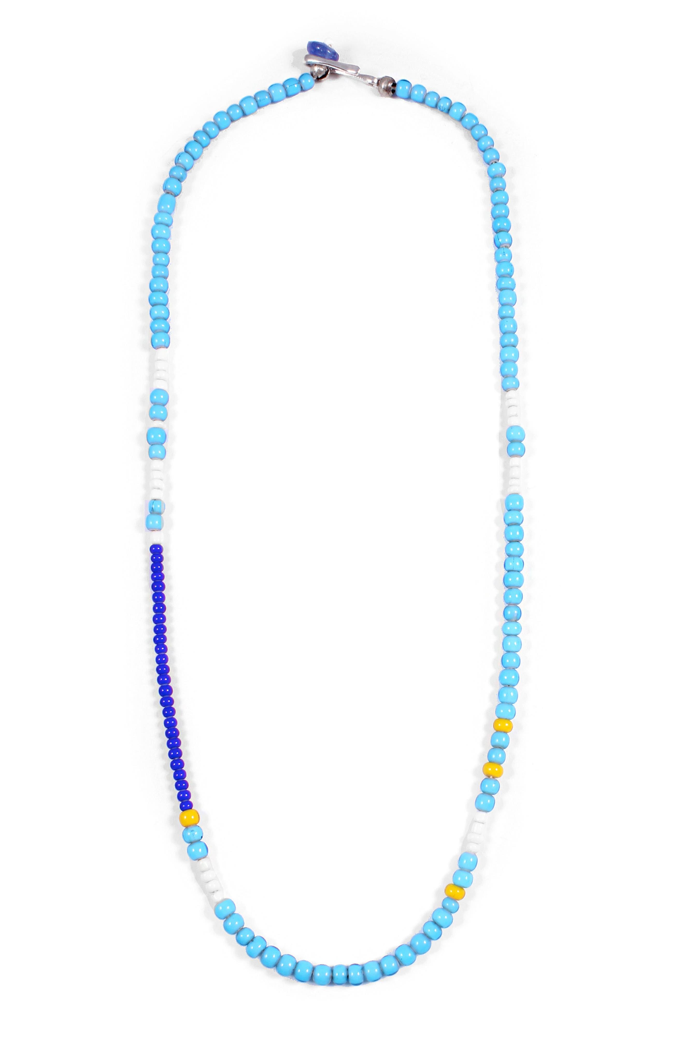 Calm Morse Necklace,                             Main thumbnail 1, color,                             430