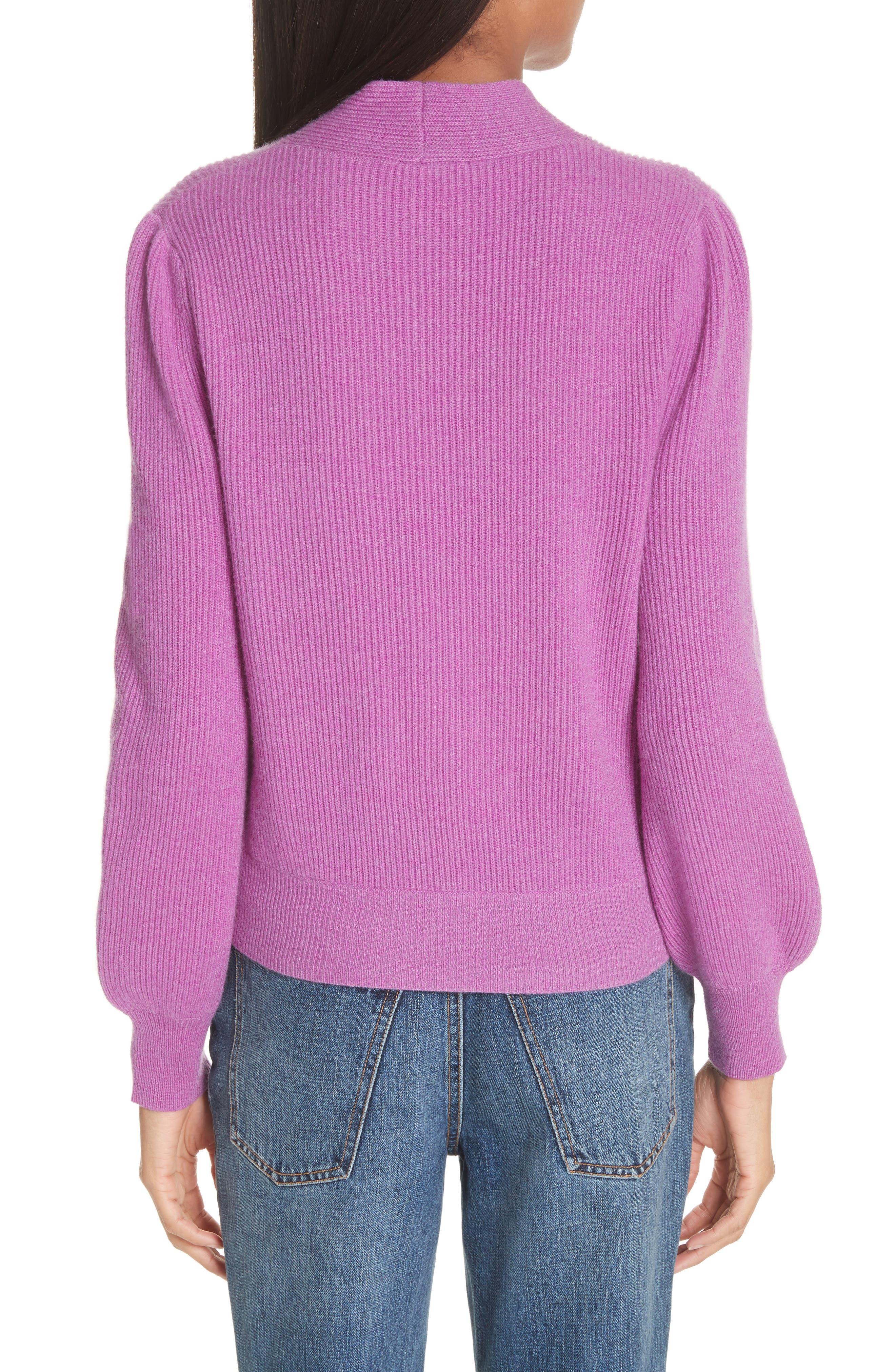 CO,                             Tie Neck Cashmere Sweater,                             Alternate thumbnail 2, color,                             679