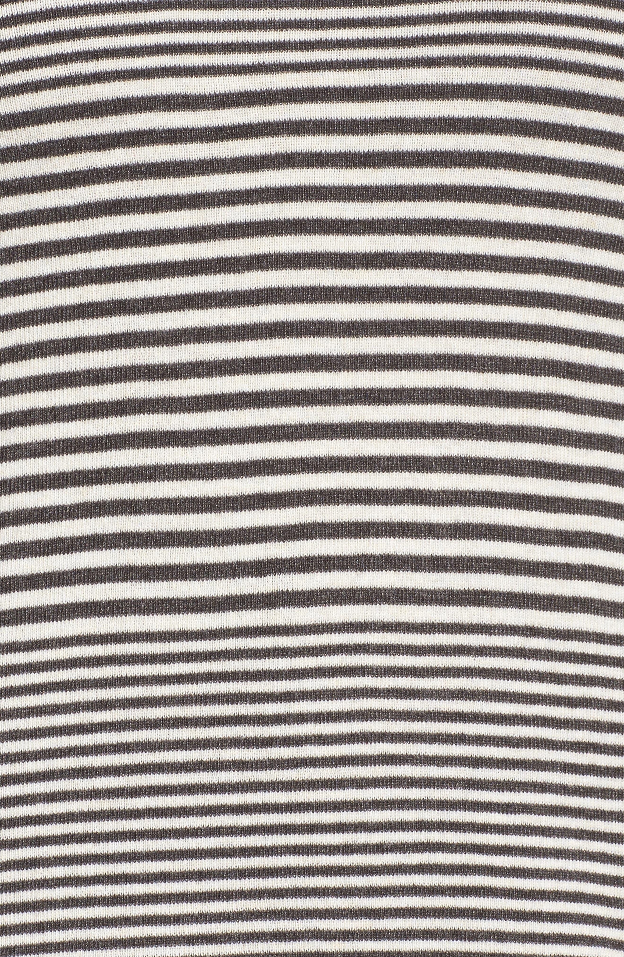 Metro Stripe Sweater,                             Alternate thumbnail 5, color,                             020
