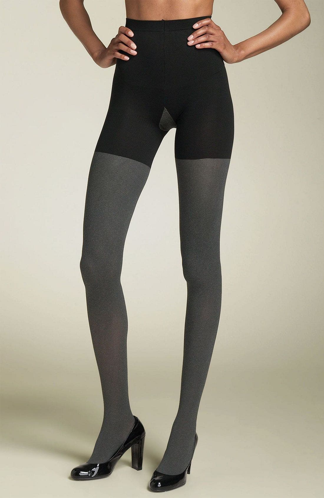 'Tight End' Shaping Tights,                         Main,                         color, 098