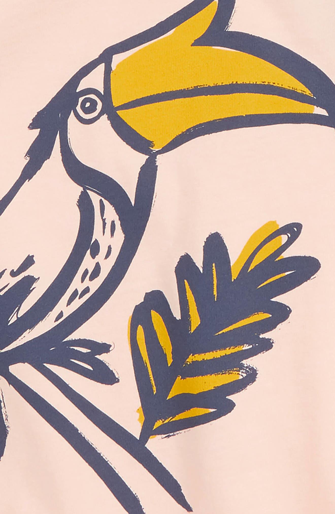 Hornbill Raglan Tunic,                             Alternate thumbnail 2, color,                             SEASHELL