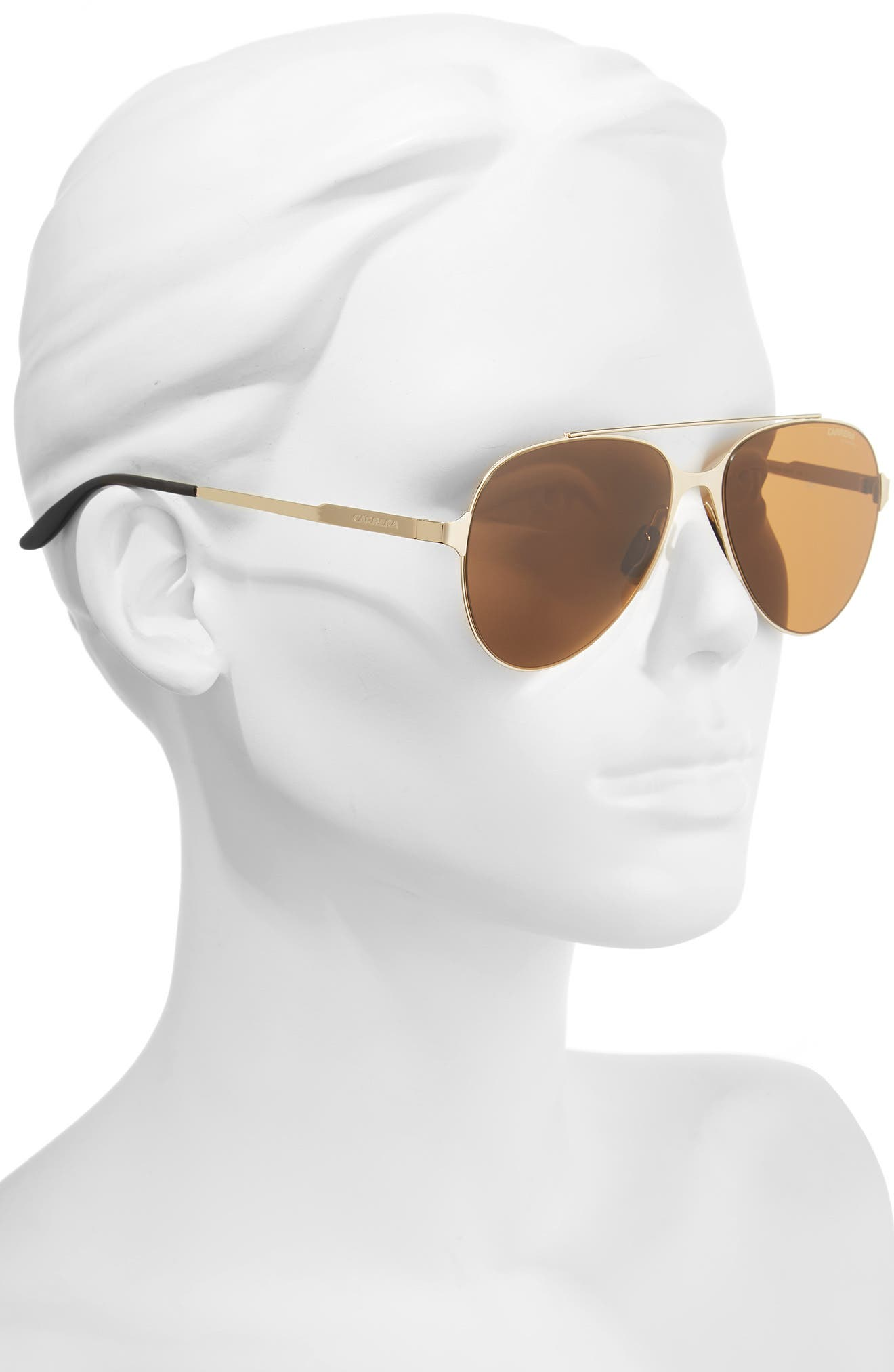 55mm Aviator Sunglasses,                             Alternate thumbnail 2, color,                             714