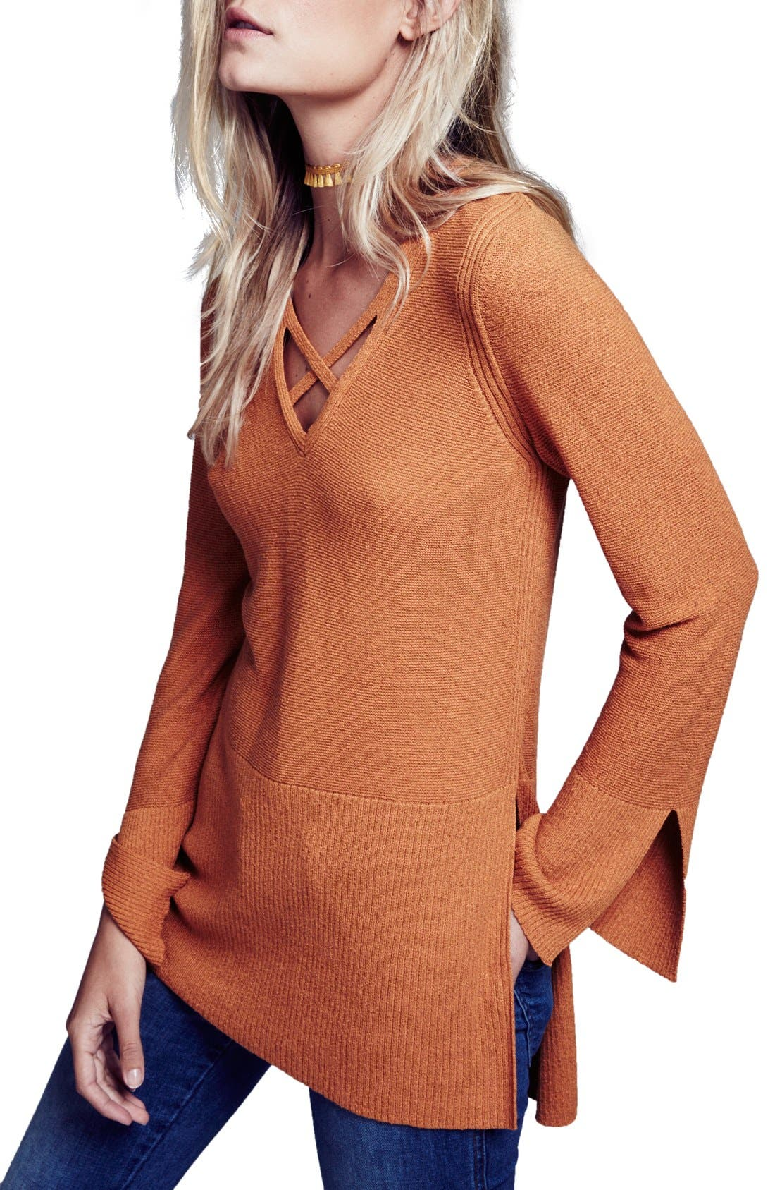Crisscross Sweater,                             Main thumbnail 6, color,