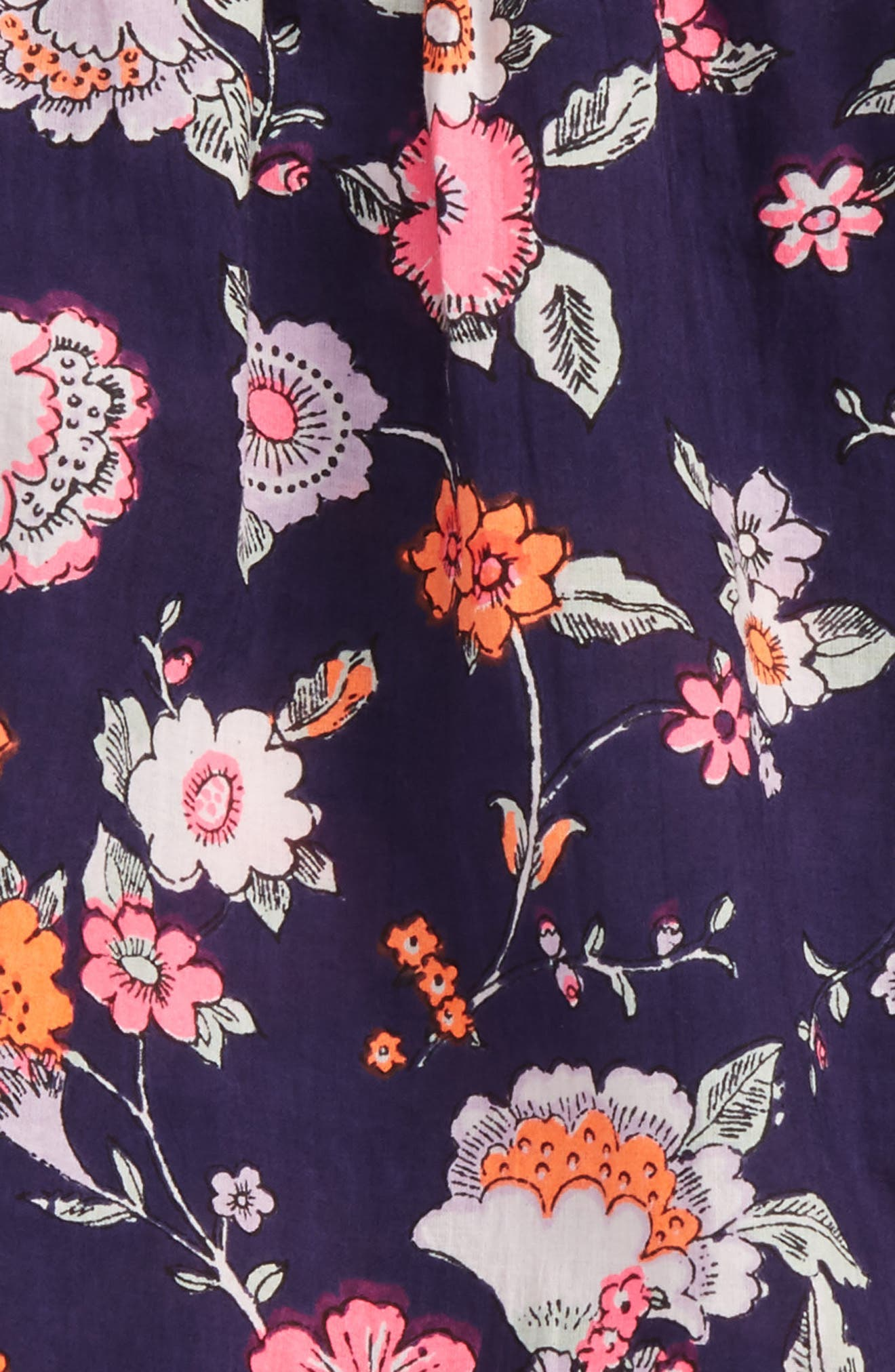 Floral Print Romper,                         Main,                         color, 410