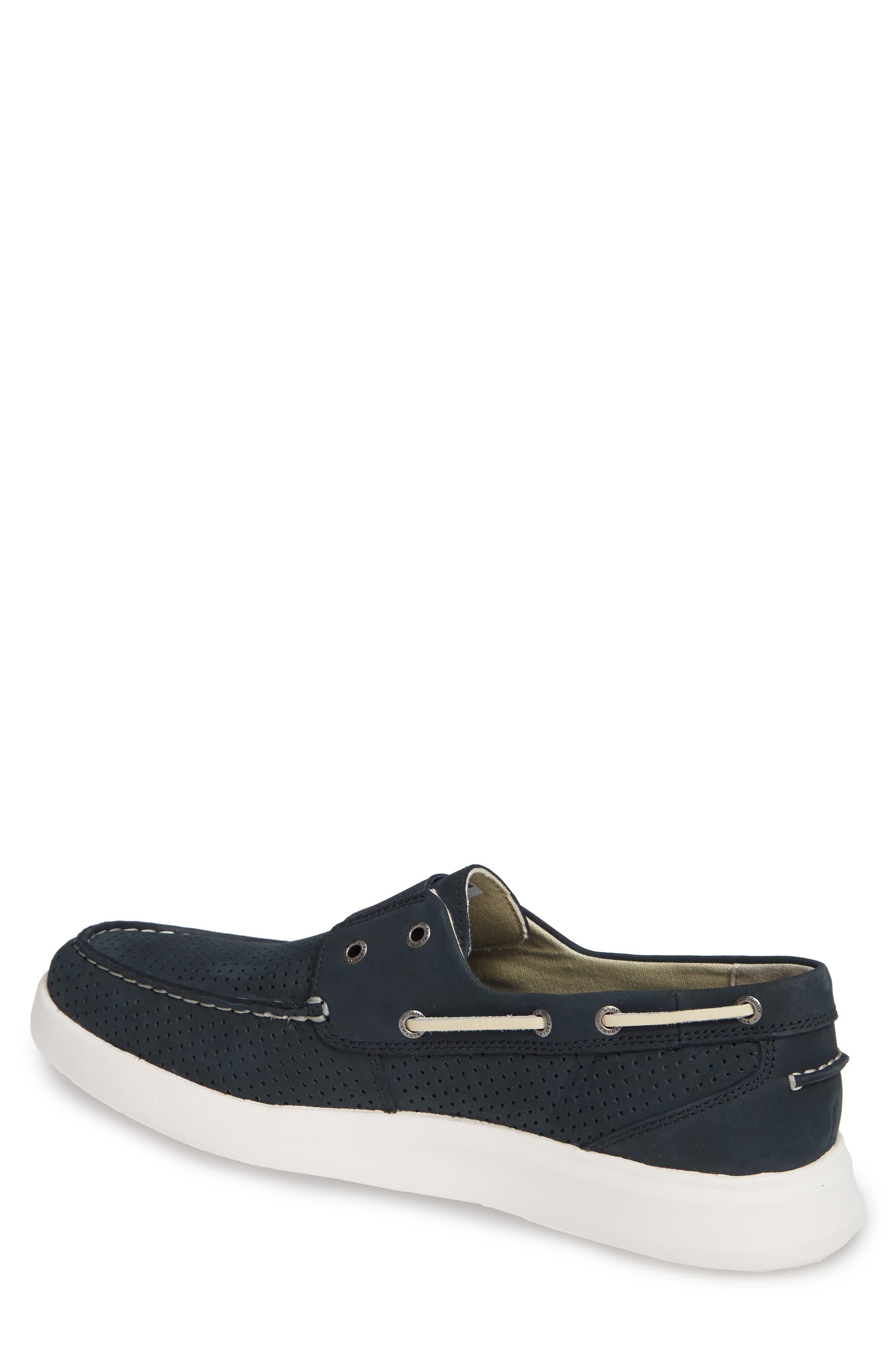 Relaxology<sup>®</sup> Aeonian Boat Shoe,                             Alternate thumbnail 2, color,                             NAVY NUBUCK