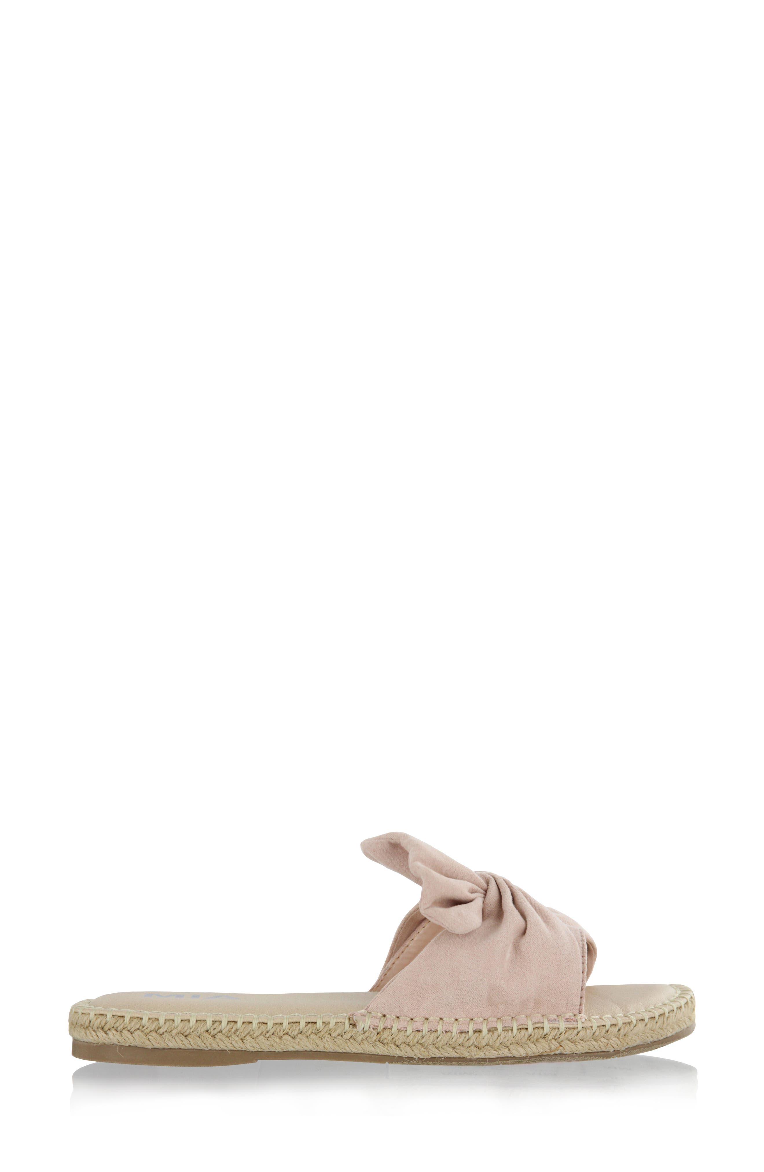 Kensi Knotted Slide Sandal,                             Alternate thumbnail 12, color,