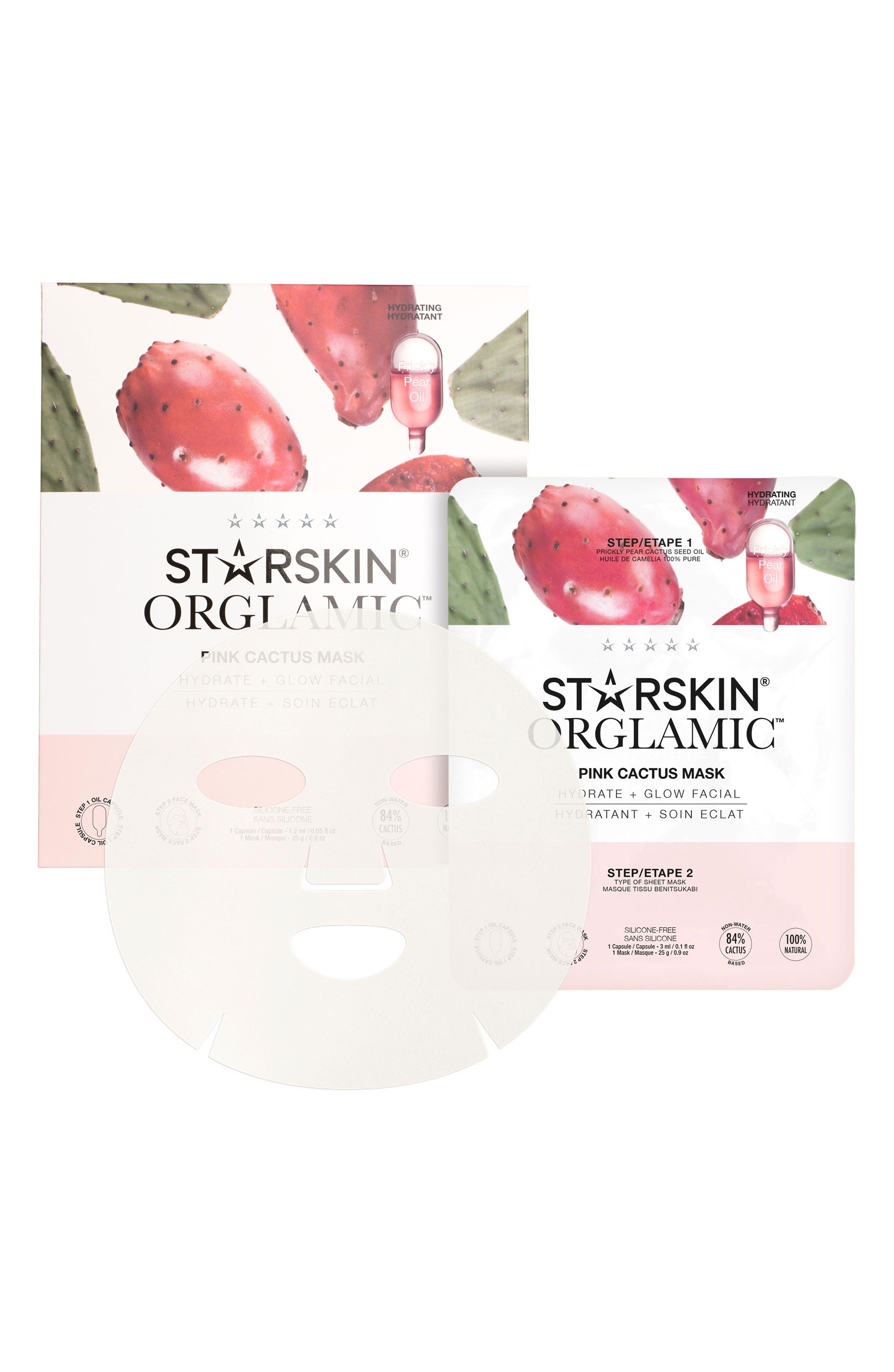 Pink Cactus Mask