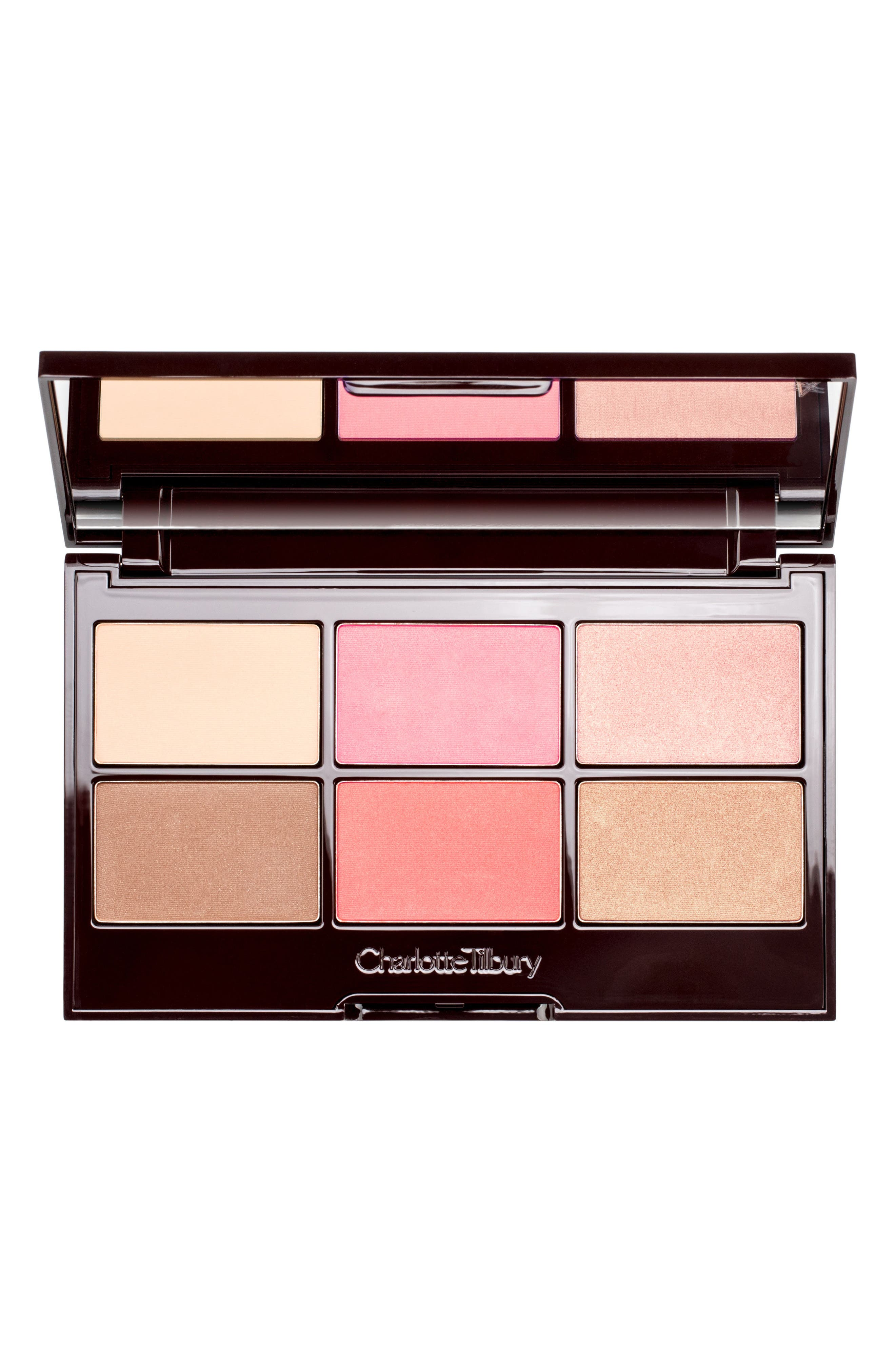 Pretty Glowing Skin Palette,                             Main thumbnail 1, color,                             NO COLOR