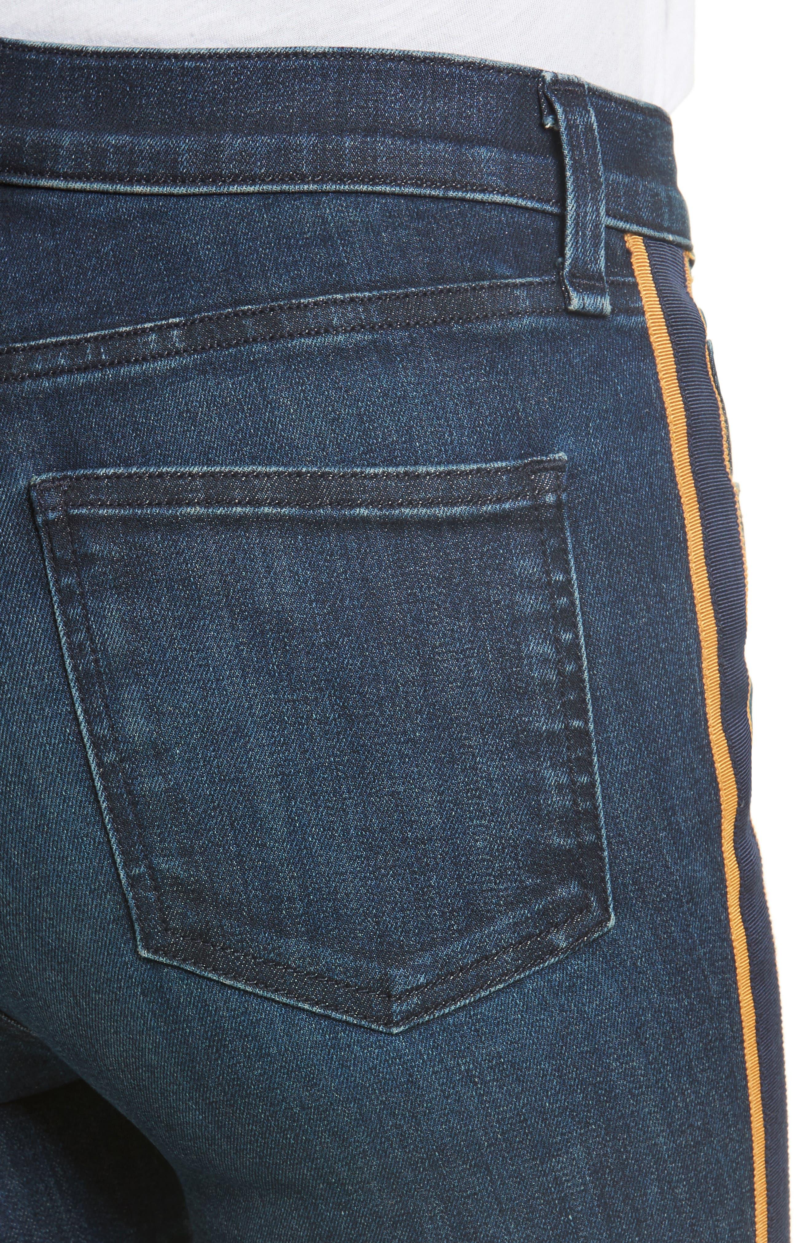 VERONICA BEARD,                             Carolyn Baby Boot Crop Jeans,                             Alternate thumbnail 4, color,                             412