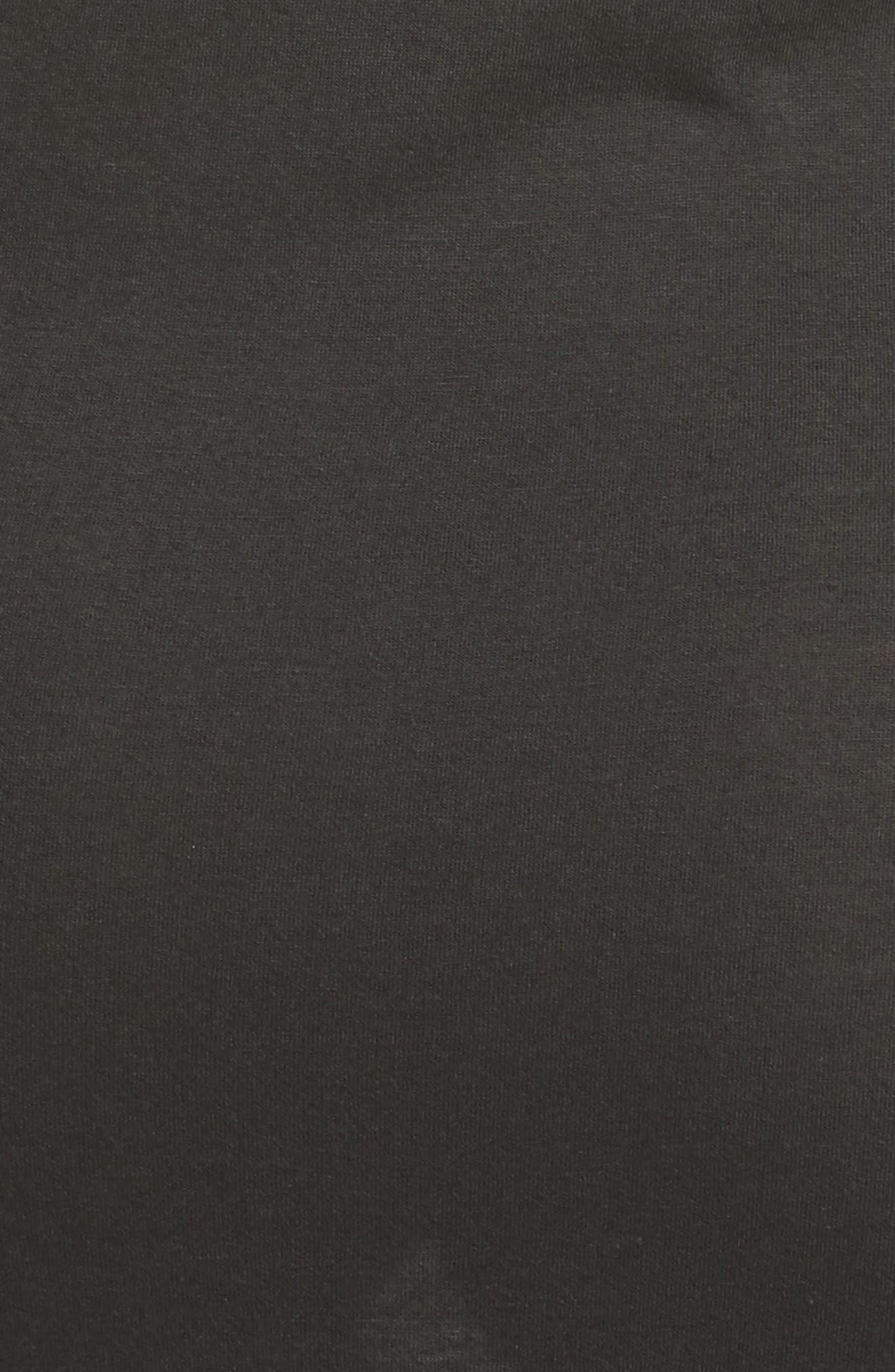 Sameetha Plume Jersey Maxi Dress,                             Alternate thumbnail 5, color,                             001